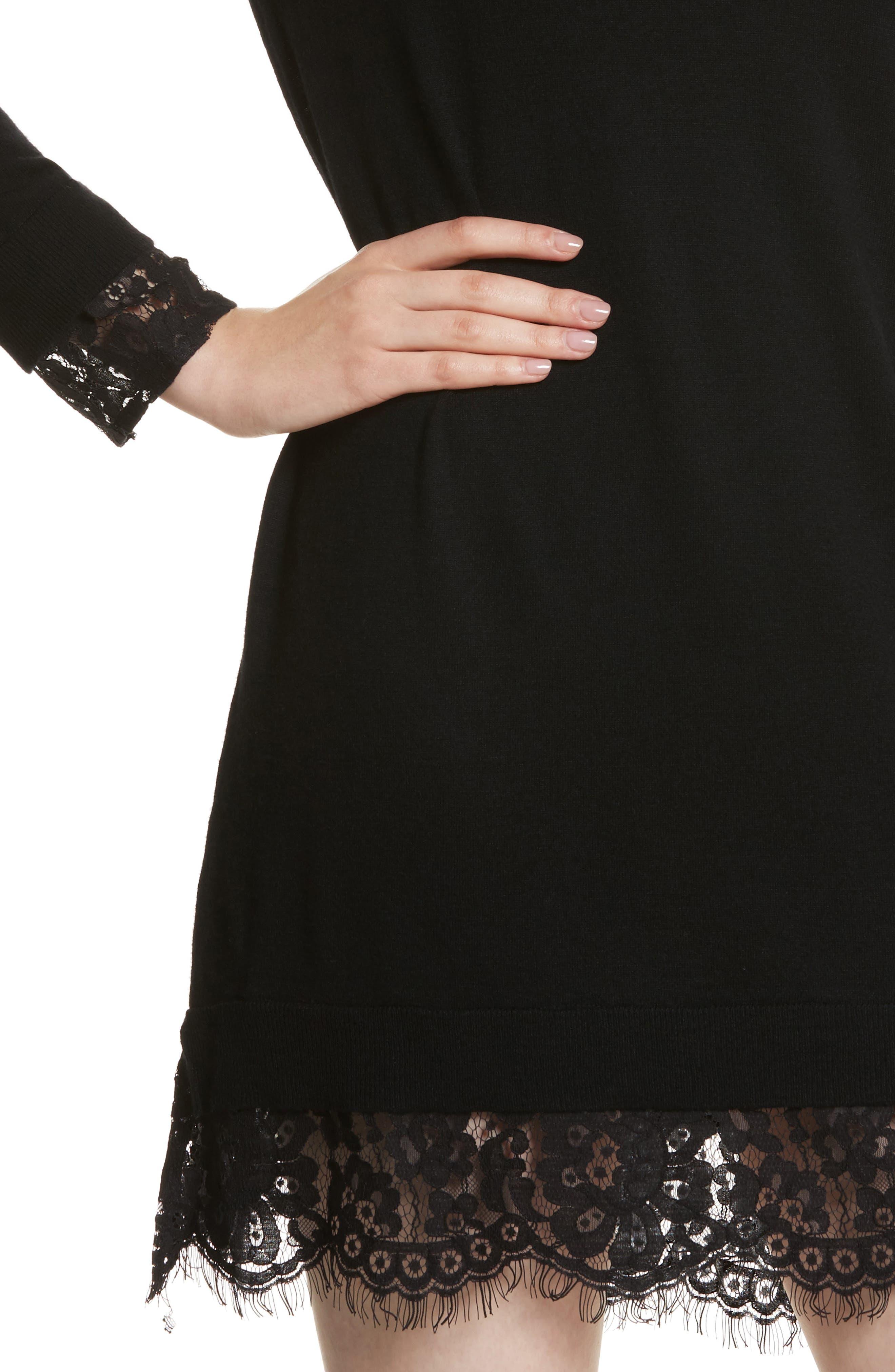 Alternate Image 4  - Joie Fredrika B Lace Trim Dress