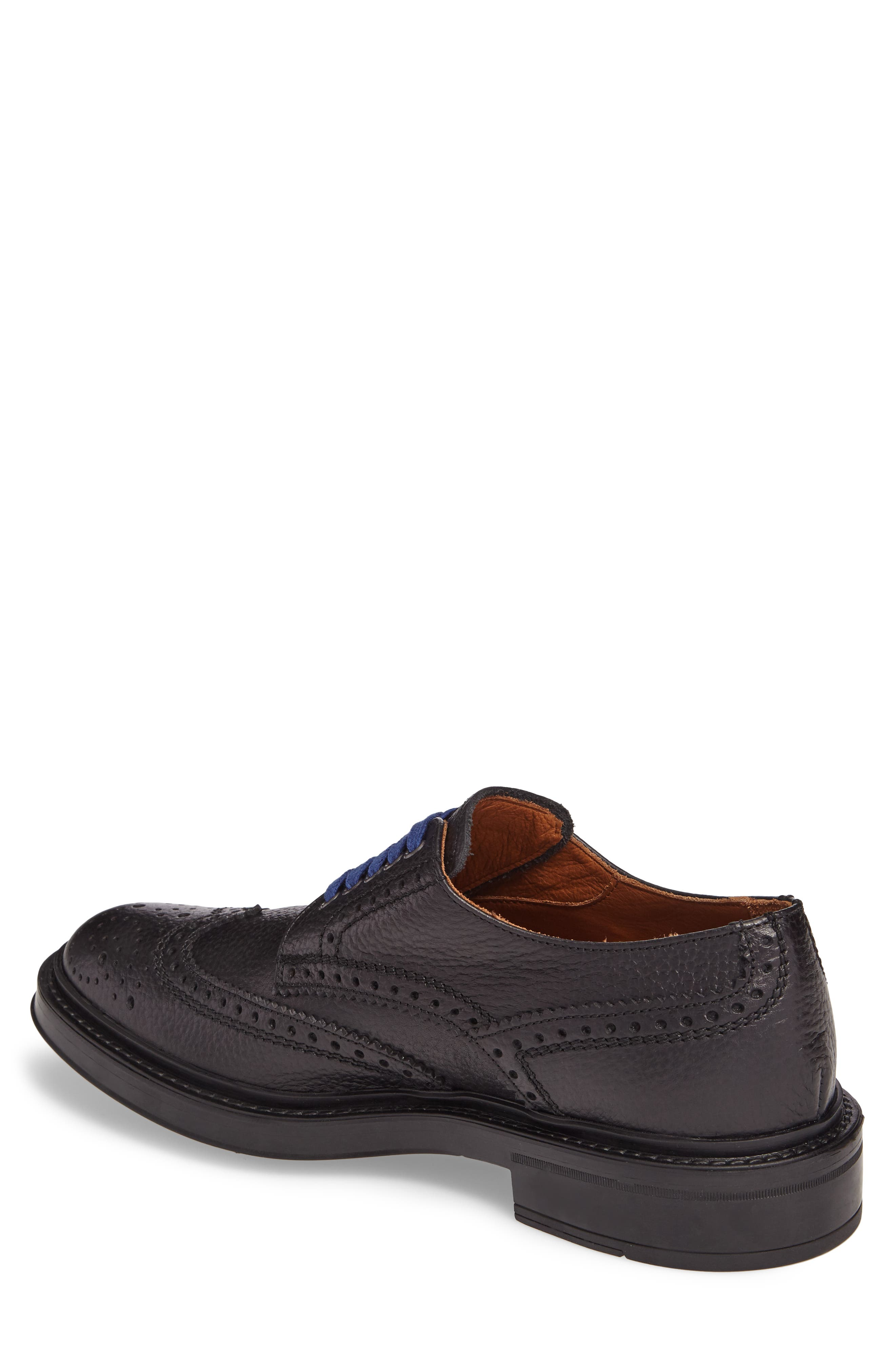 Landon Weatherproof Wingtip,                             Alternate thumbnail 2, color,                             Black