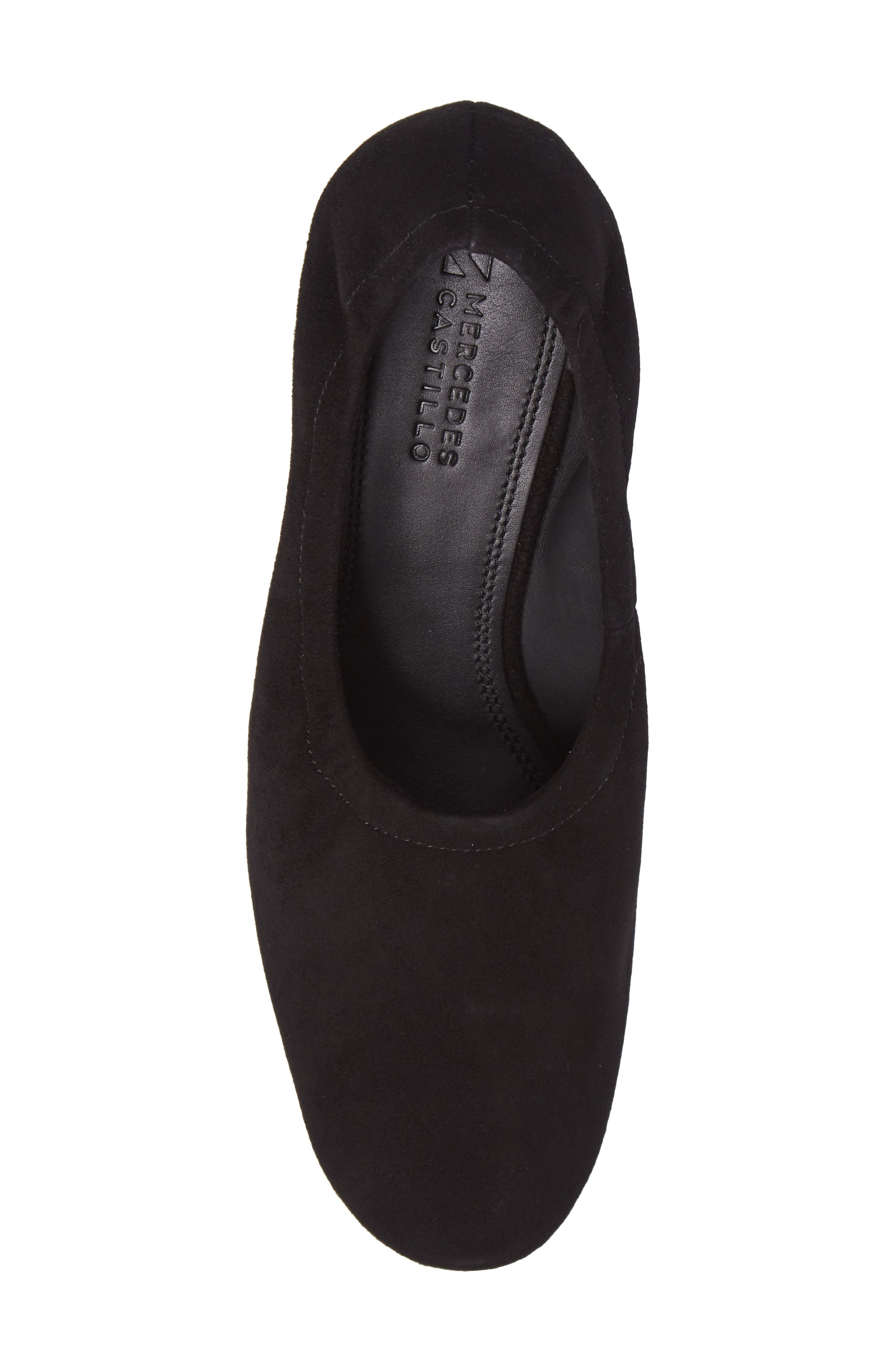 Emilia Pump,                             Alternate thumbnail 5, color,                             Black Suede