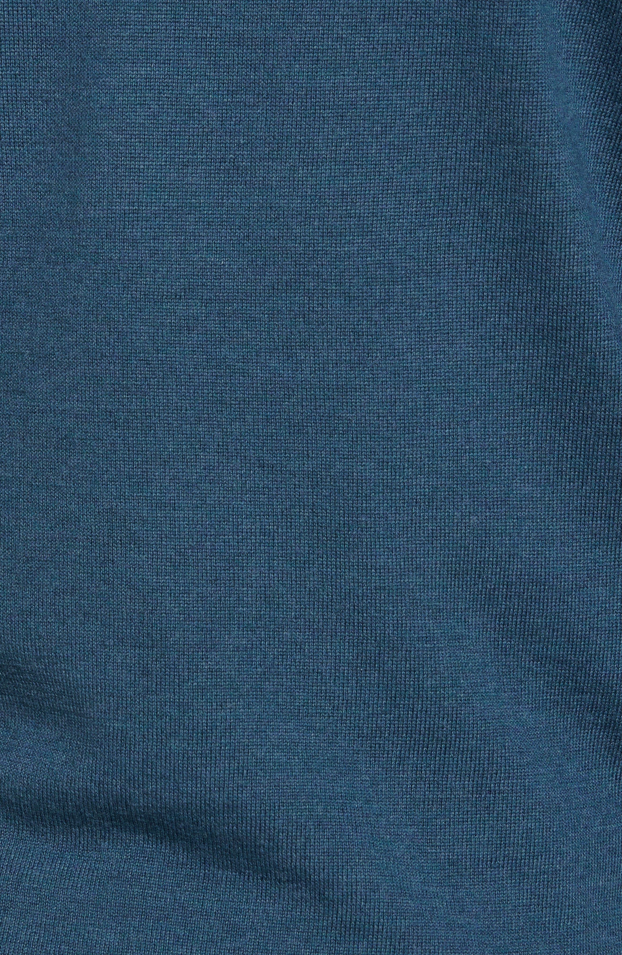 Alternate Image 5  - Nordstrom Men's Shop V-Neck Merino Wool Sweater (Regular & Tall)