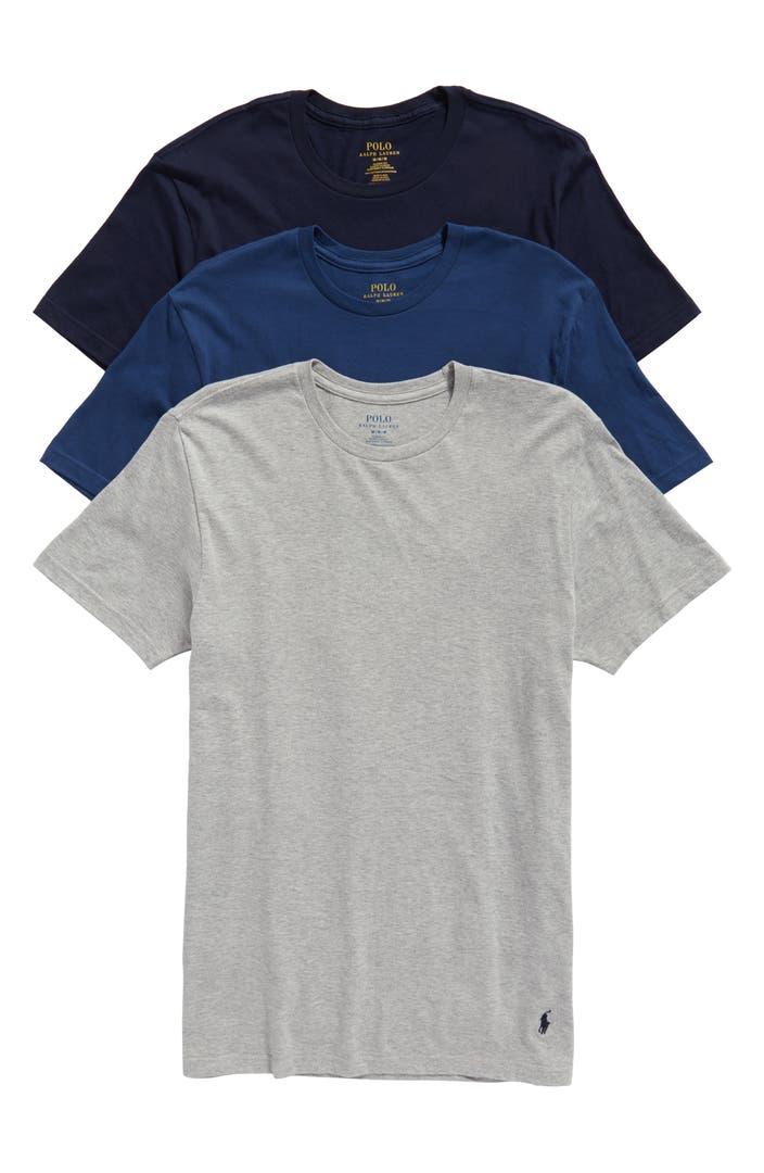 polo ralph lauren classic fit 3 pack cotton t shirt. Black Bedroom Furniture Sets. Home Design Ideas