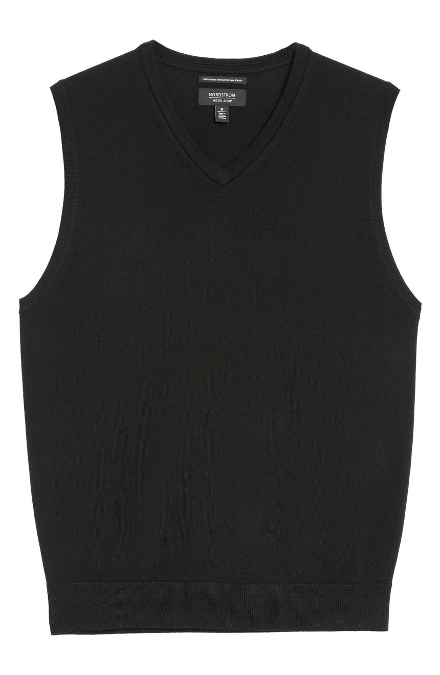 Nordstrom Men's Shop Merino Wool Sweater Vest | Nordstrom
