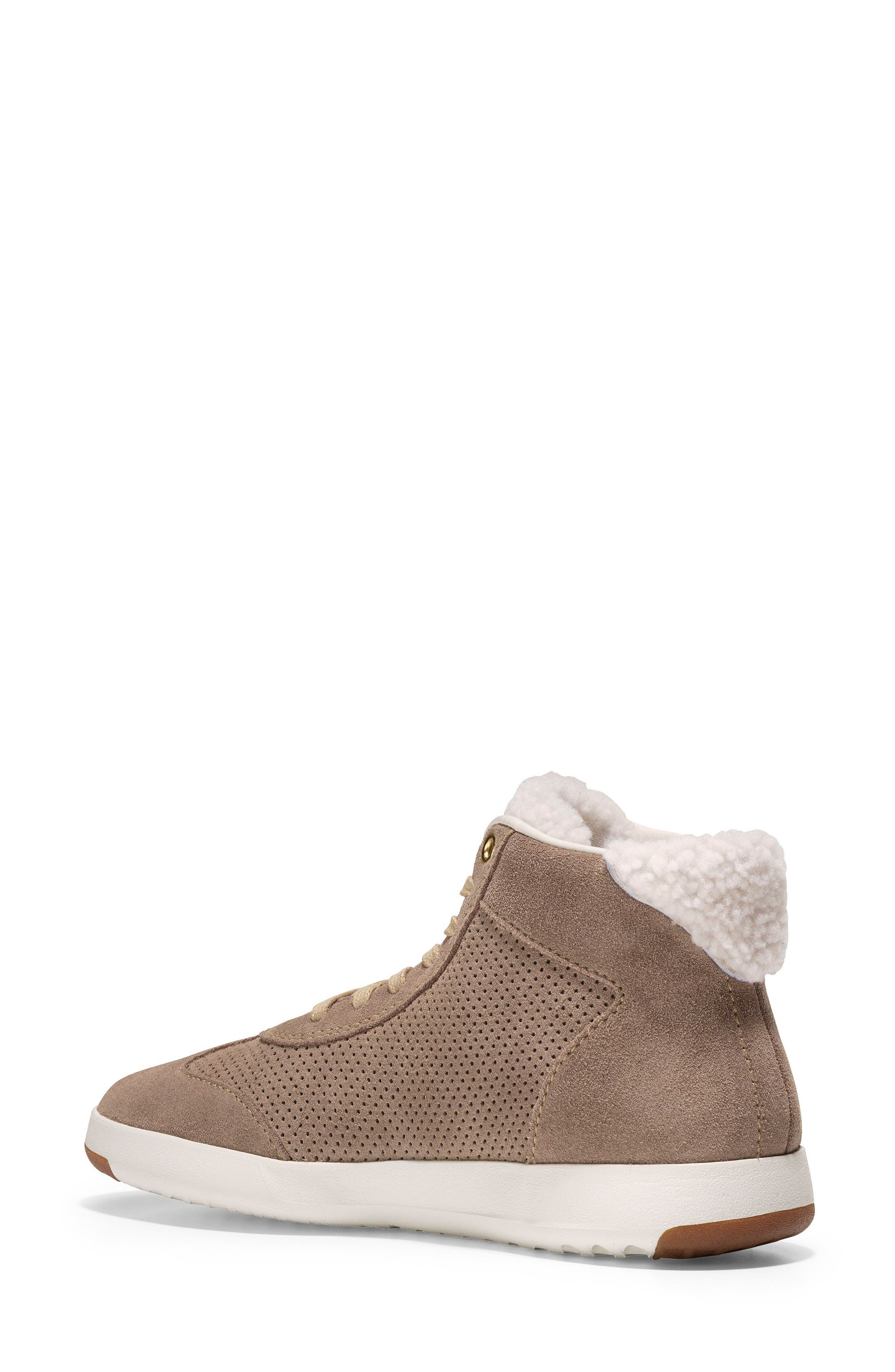 GrandPro High Top Sneaker,                             Alternate thumbnail 2, color,                             Warm Sand Suede