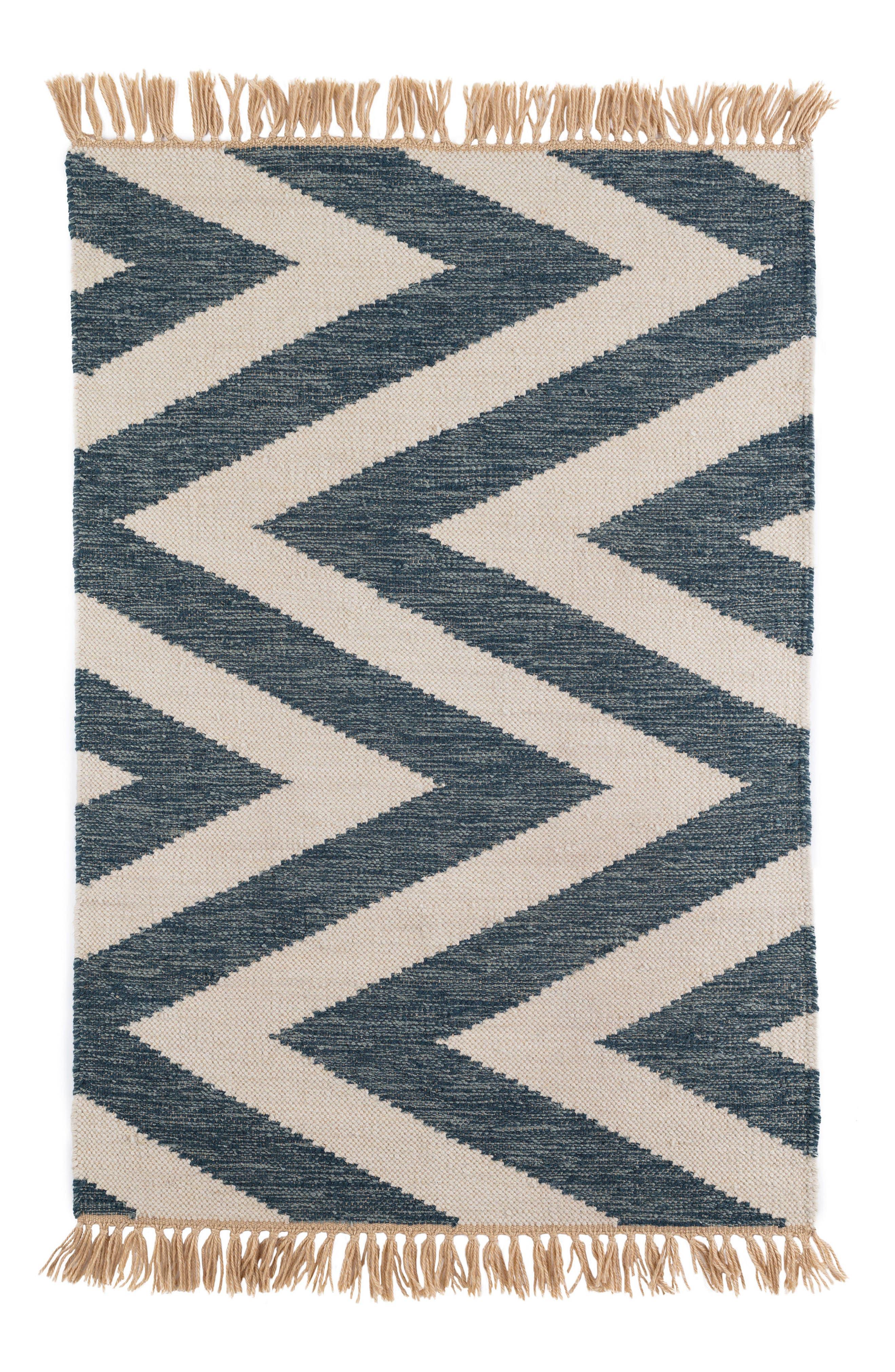 Mona Indoor/Outdoor Rug,                             Main thumbnail 1, color,                             Blue