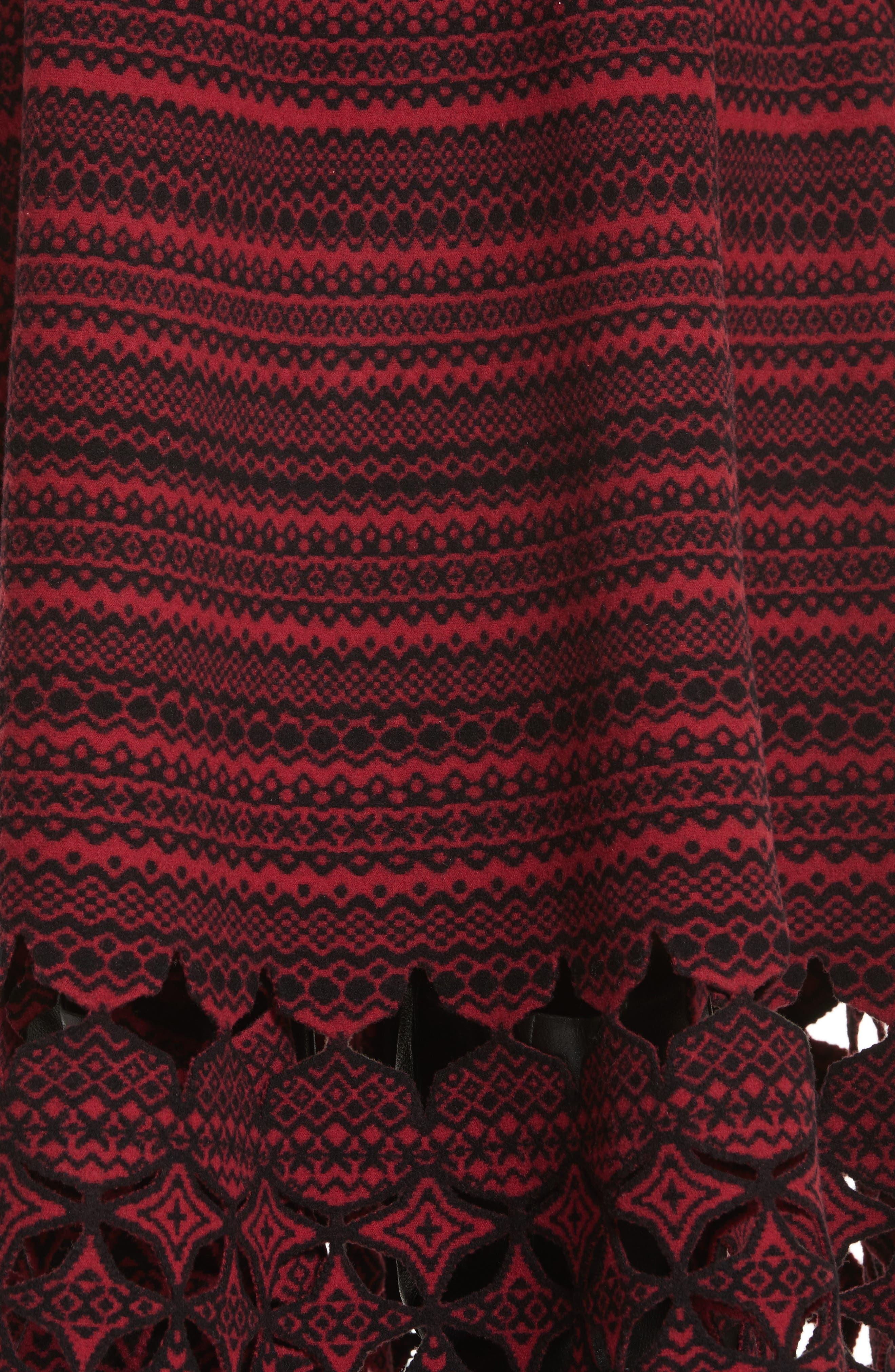 Alternate Image 5  - Fendi Fair Isle Wool Blend Skirt