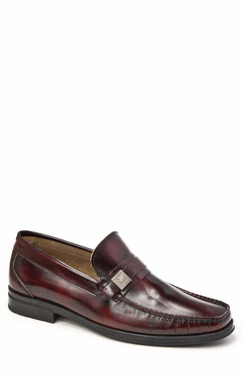 Men's Red Slip-On Loafers, Driving Shoes & Moccasins ...