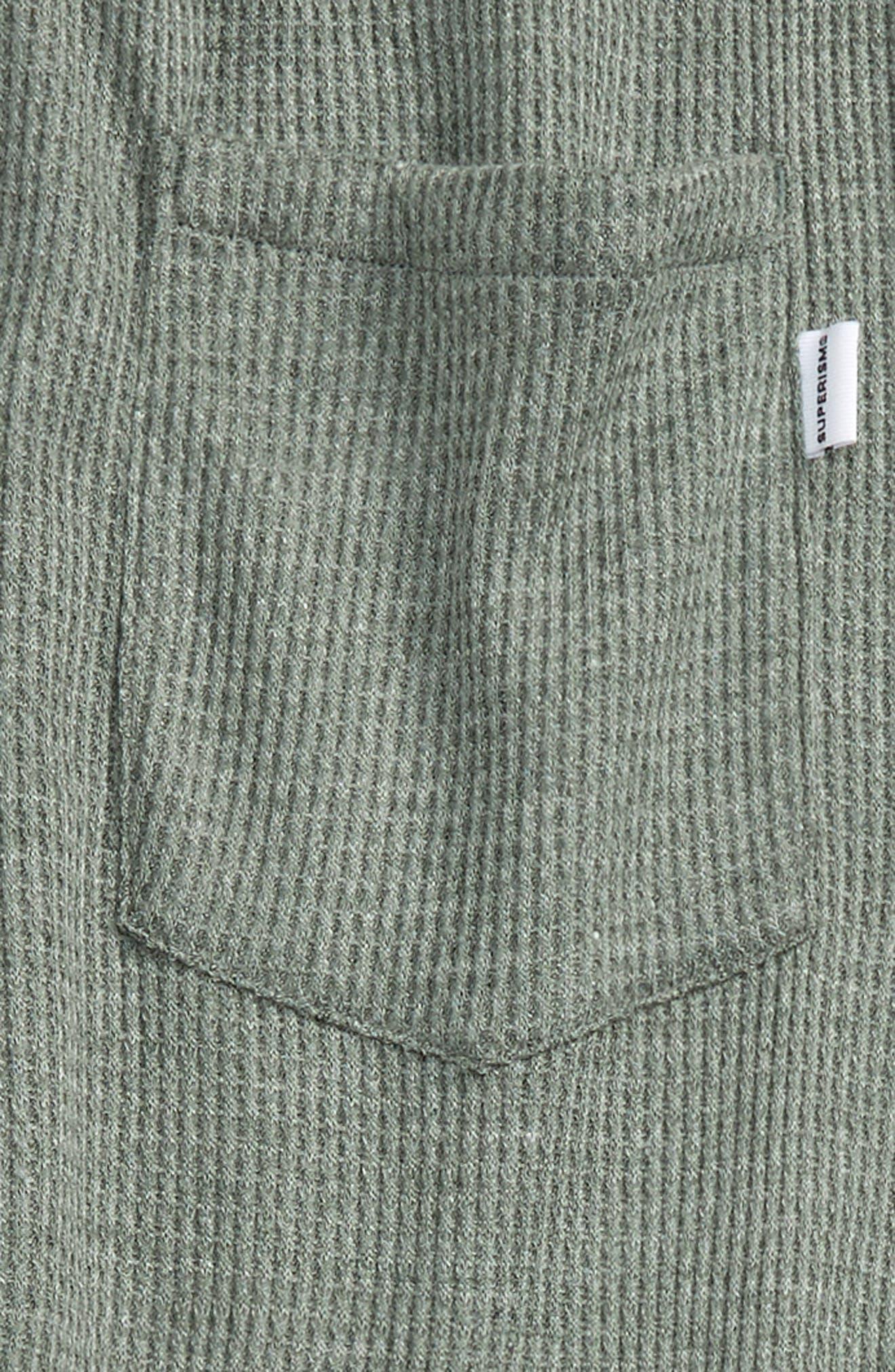Alternate Image 3  - Superism Jude Thermal Knit Jogger Pants (Big Boys)