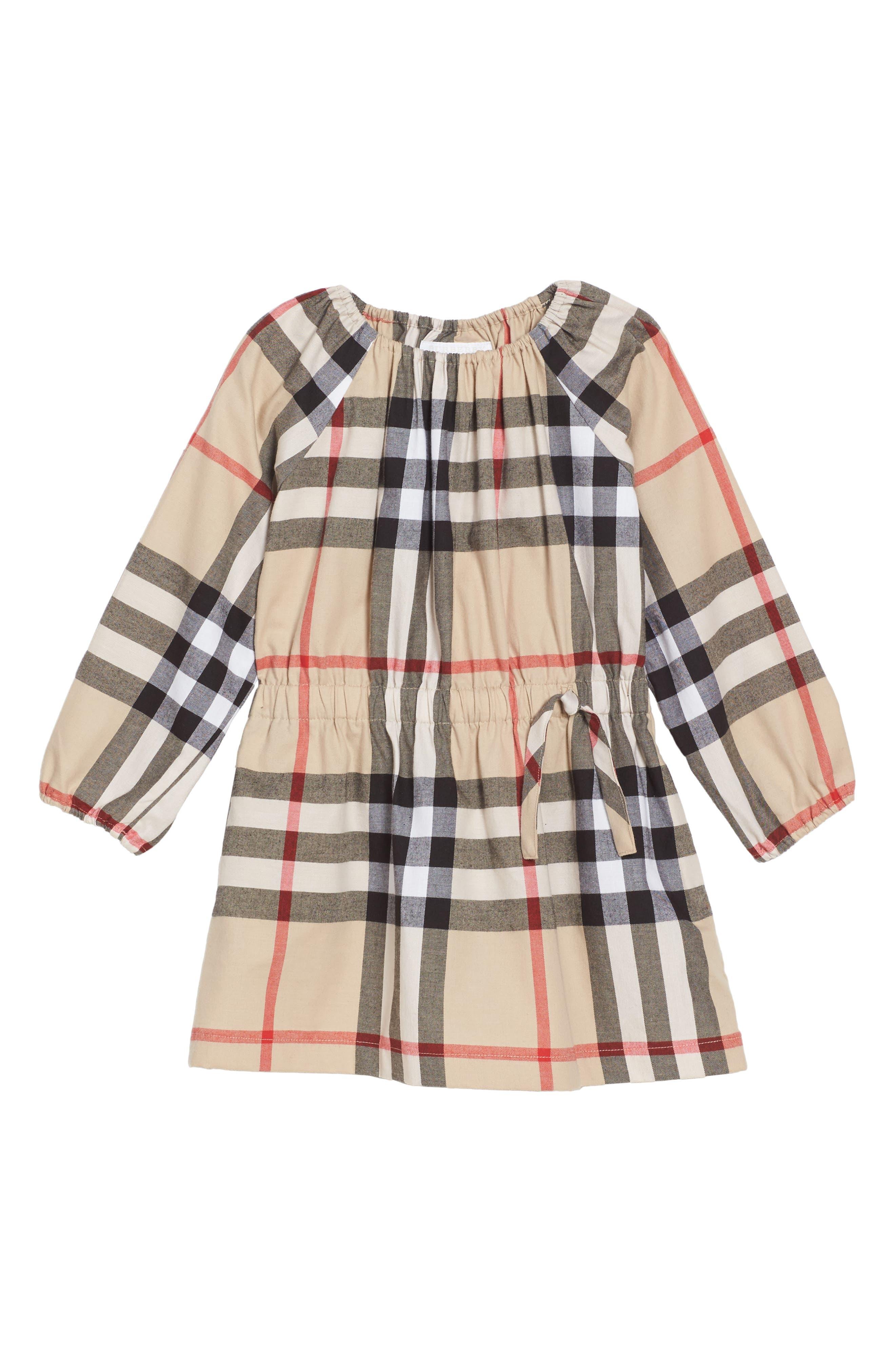 Alternate Image 1 Selected - Burberry Mini Kadyann Dress (Toddler Girls)