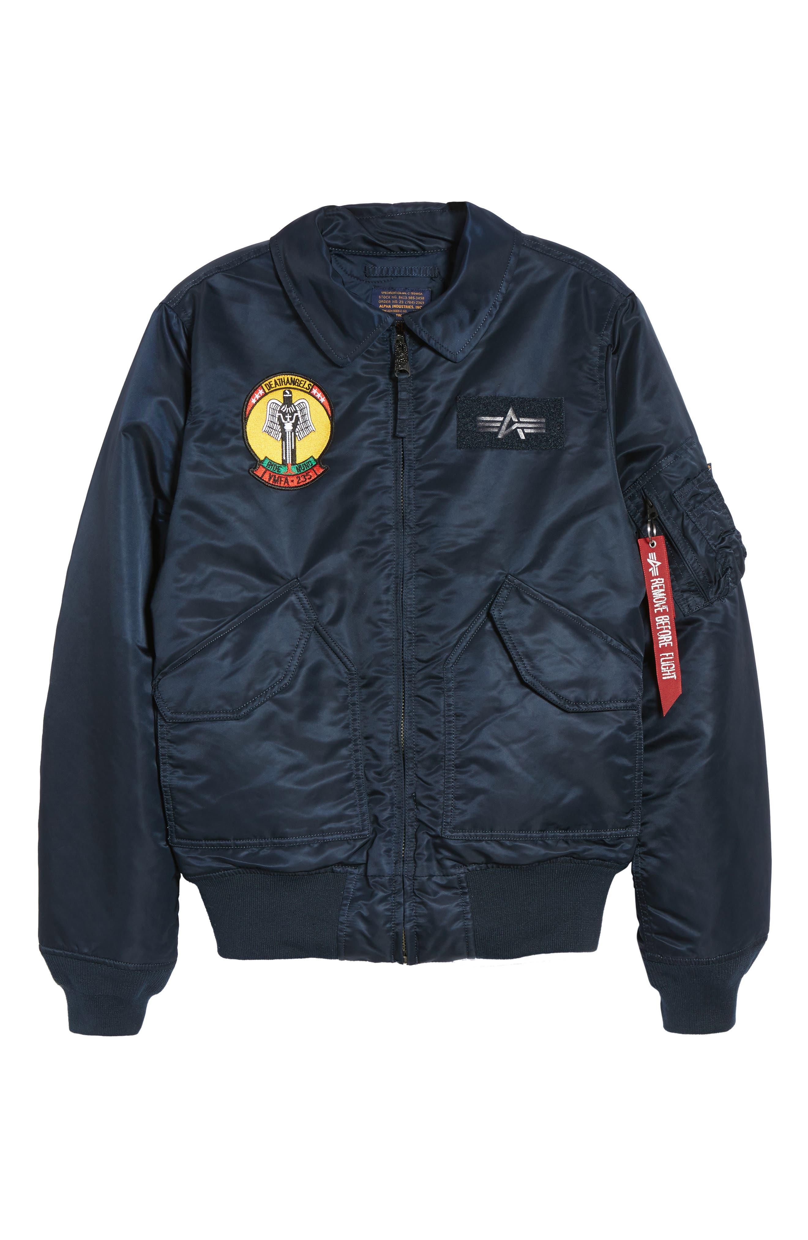 CWO 45/P Storm Cruise Jacket,                             Alternate thumbnail 6, color,                             Replica Blue