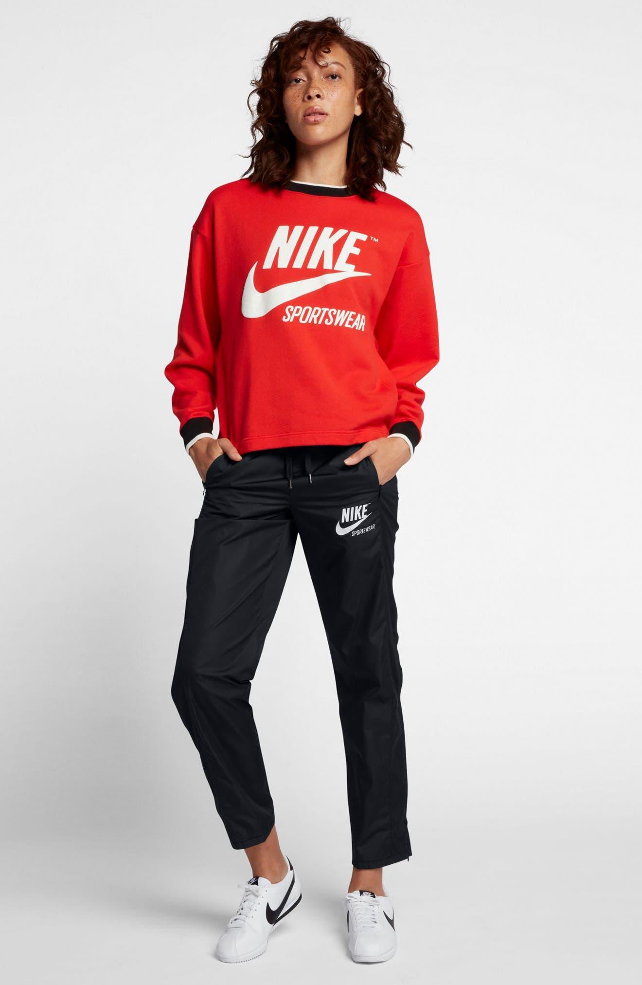 Alternate Image 2  - Nike Sportswear Women's Stretch Faille Pants