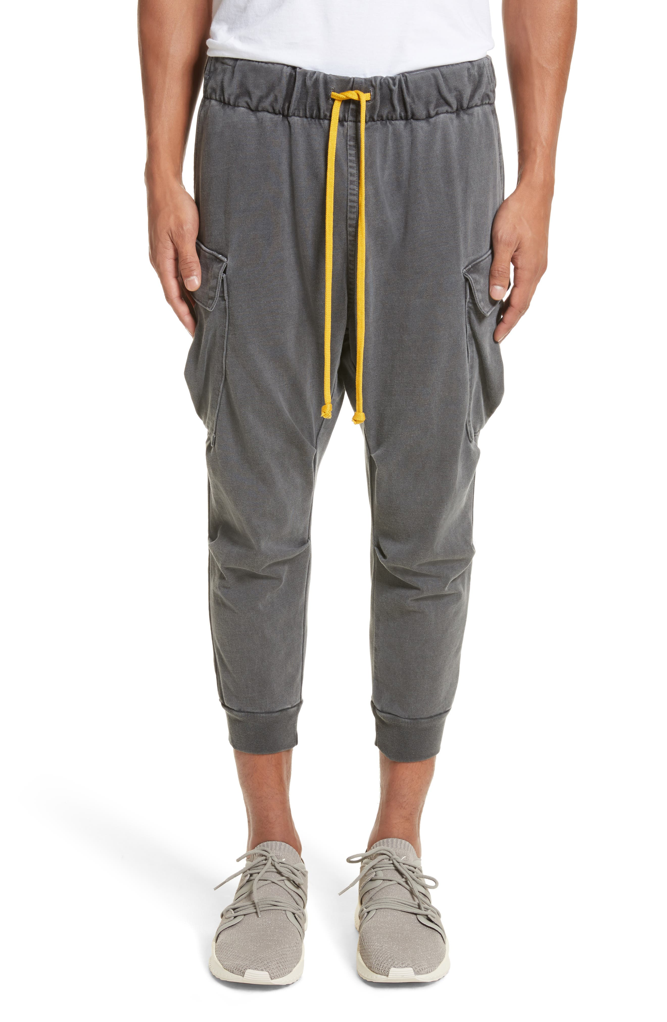 Alternate Image 1 Selected - Drifter Geri Cropped Jogger Cargo Pants