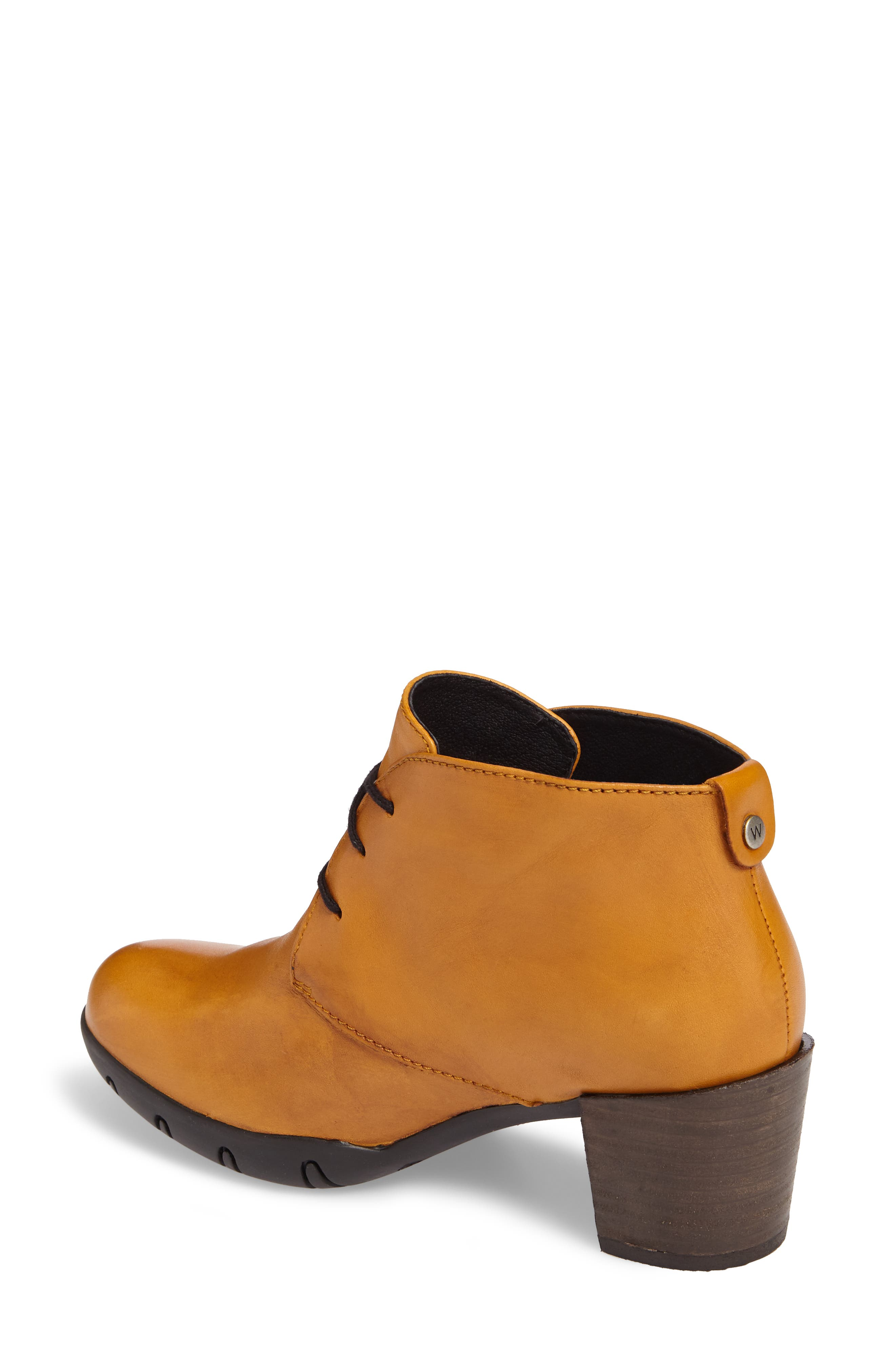 Bighorn Bootie,                             Alternate thumbnail 2, color,                             Curry Leather