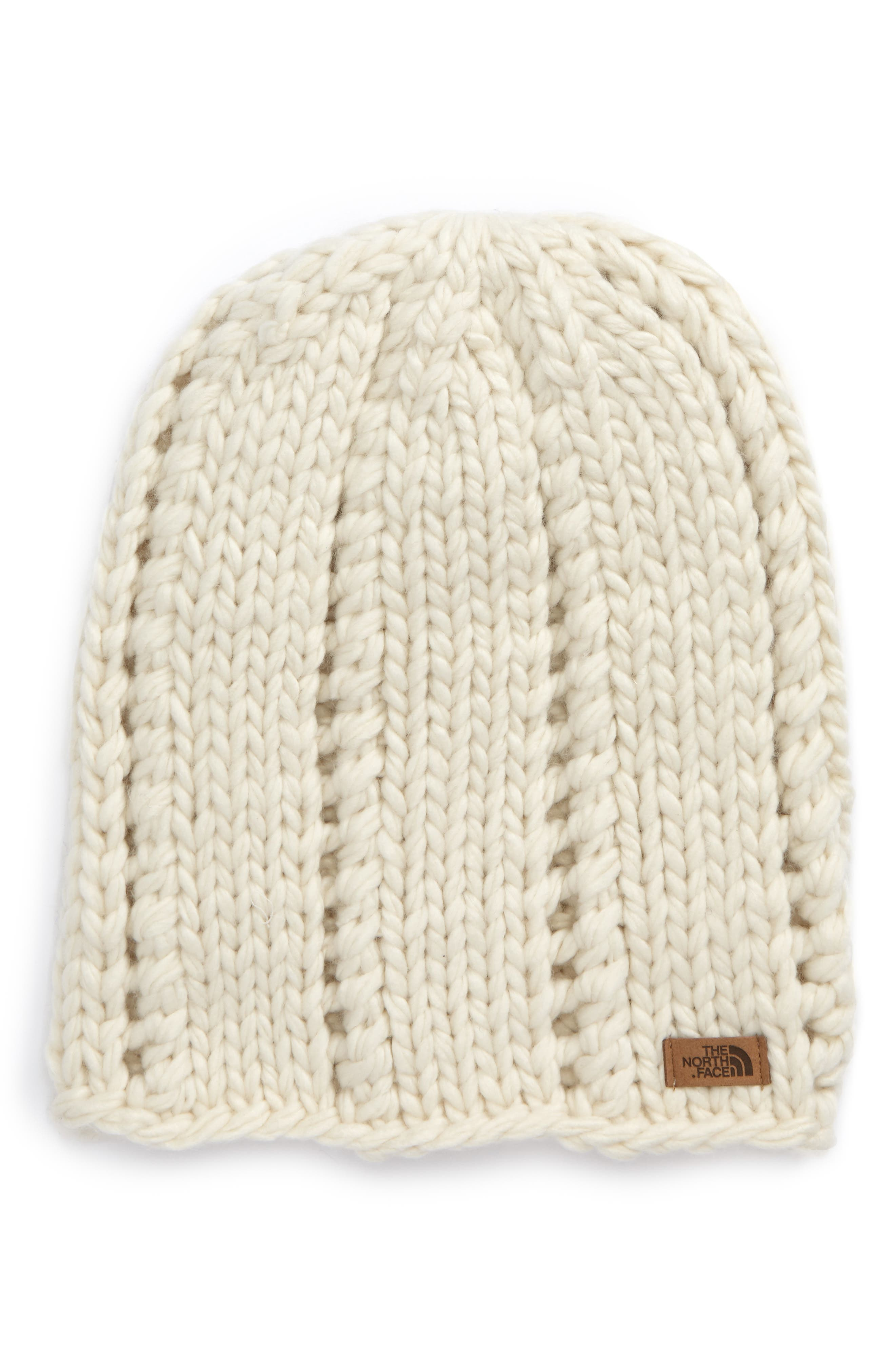 Alternate Image 1 Selected - The North Face Logo Beanie