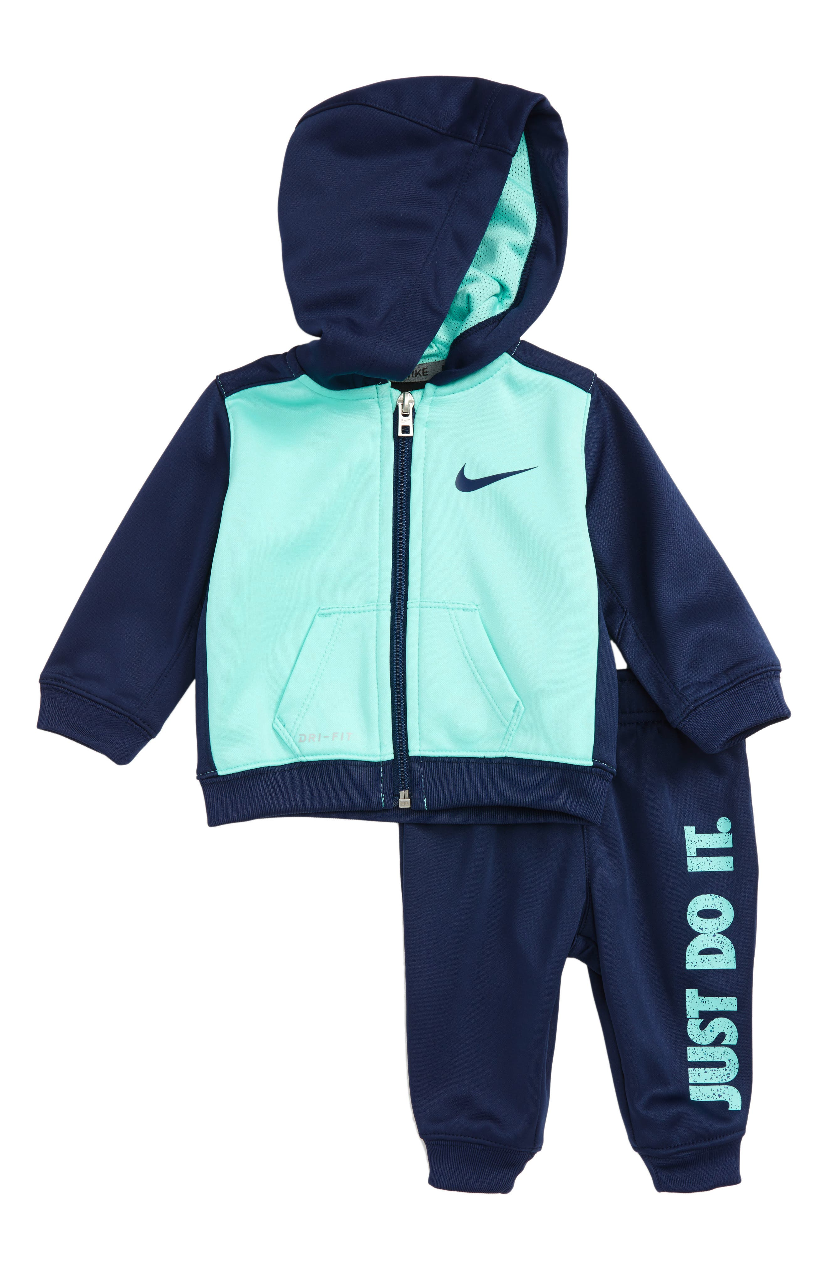 Therma-FIT Hoodie & Pants Set,                         Main,                         color, Binary Blue