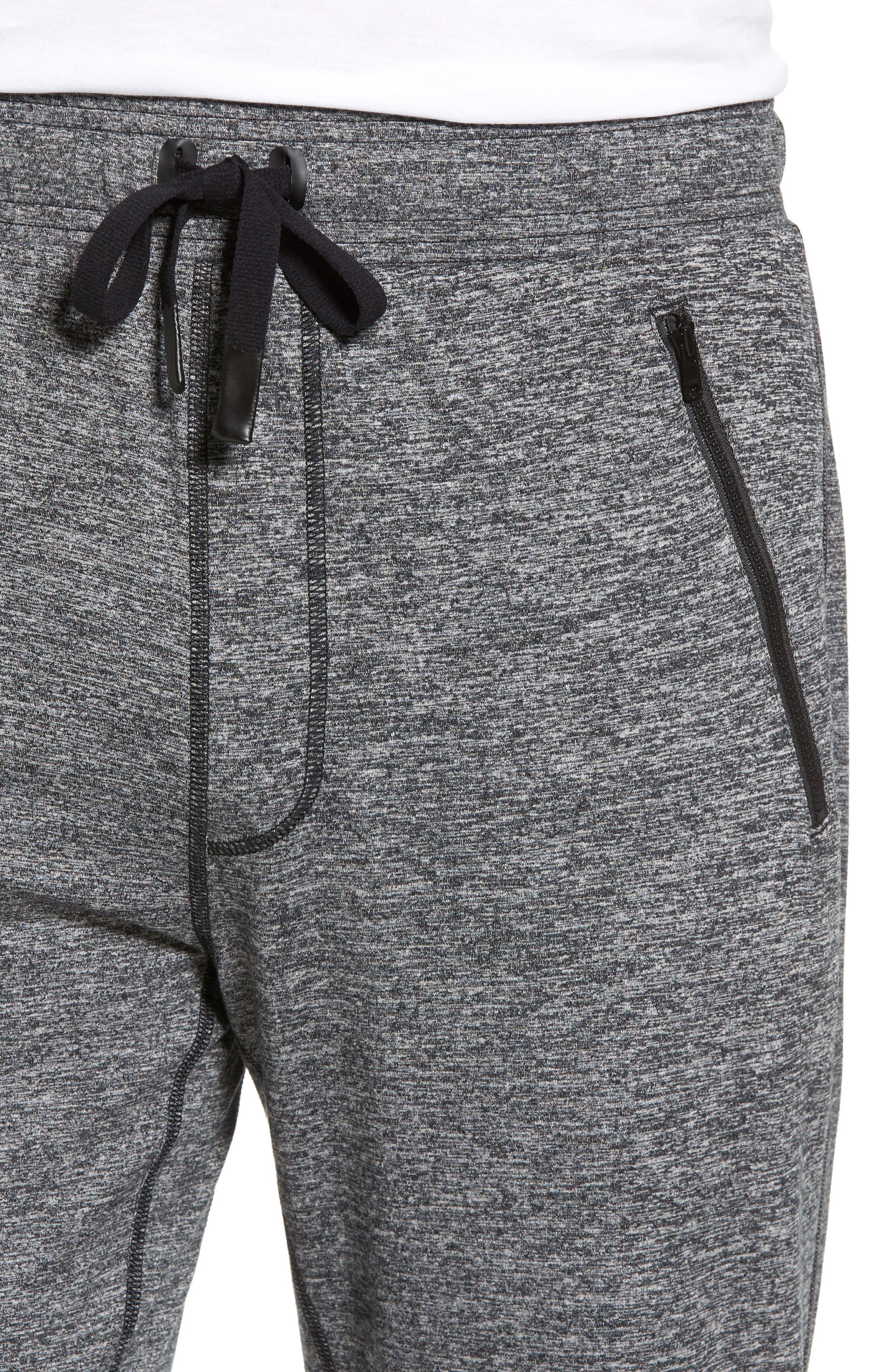 Renew Relaxed Lounge Pants,                             Alternate thumbnail 4, color,                             Grey Marl
