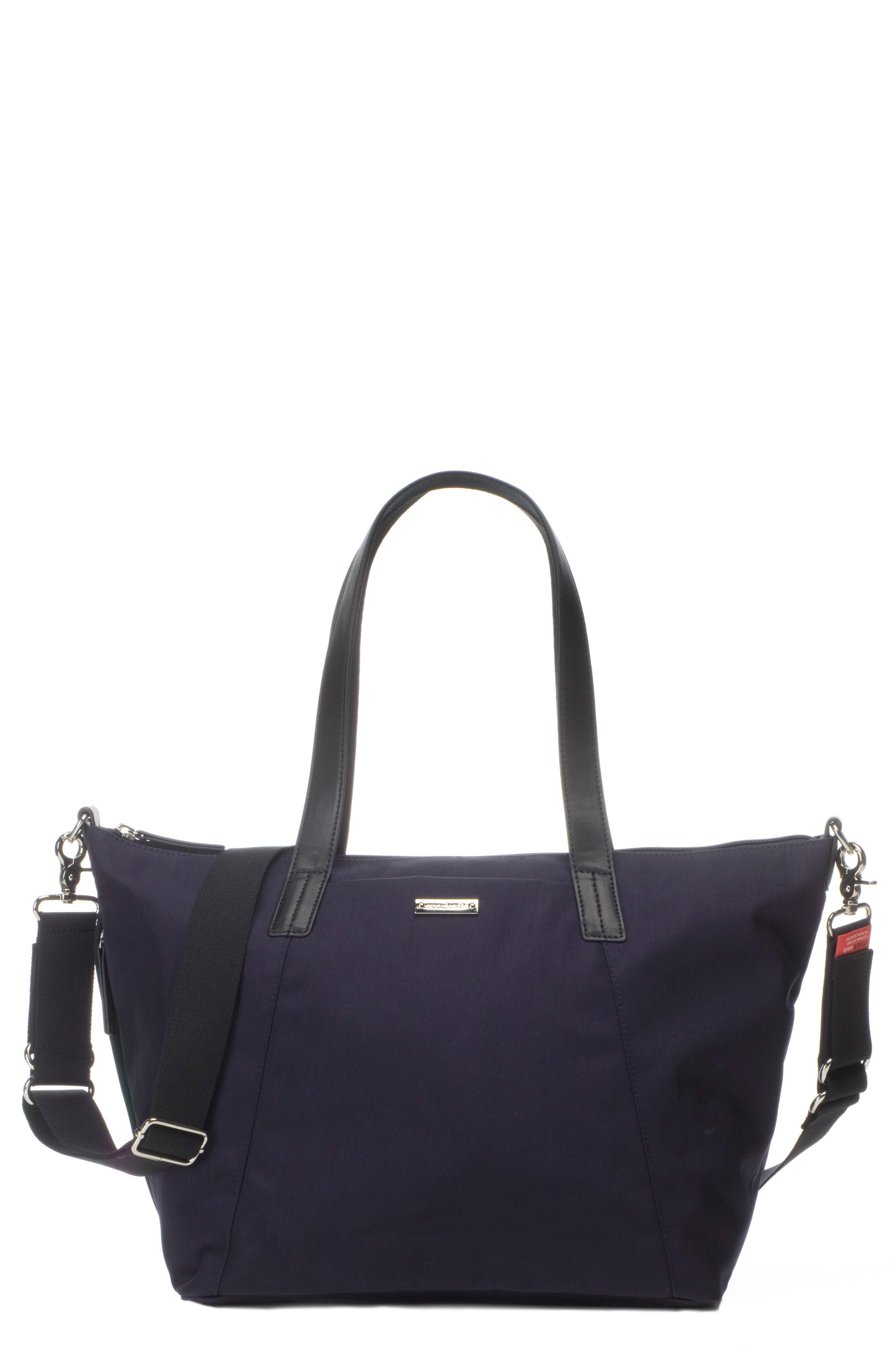Noa Luxe Diaper Bag,                             Main thumbnail 1, color,                             Midnight Blue