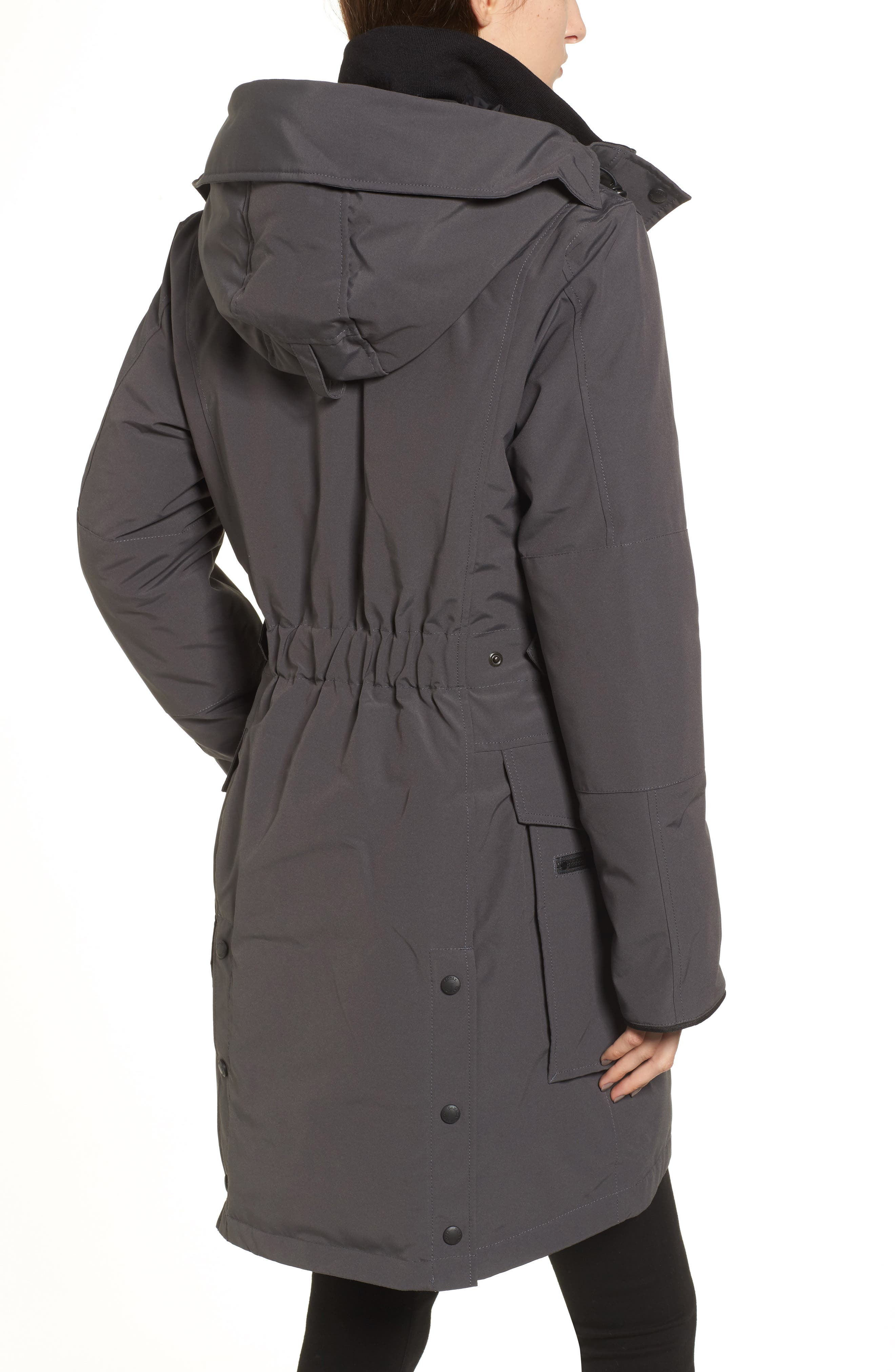 Kinley Insulated Parka,                             Alternate thumbnail 2, color,                             Graphite