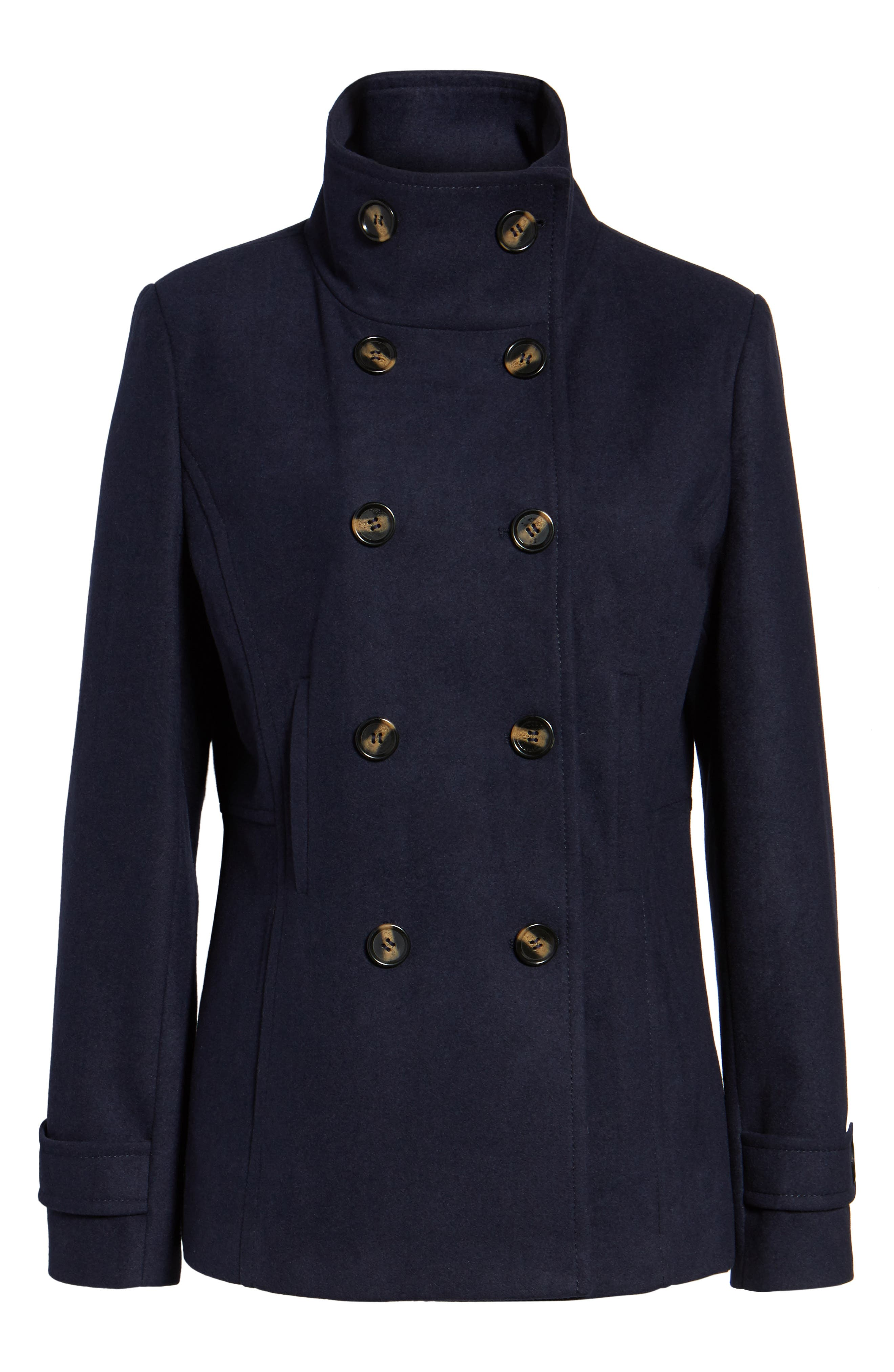 Alternate Image 6  - Thread & Supply Double Breasted Peacoat