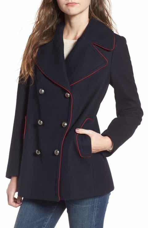 Women's Blue Peacoat Coats & Jackets | Nordstrom