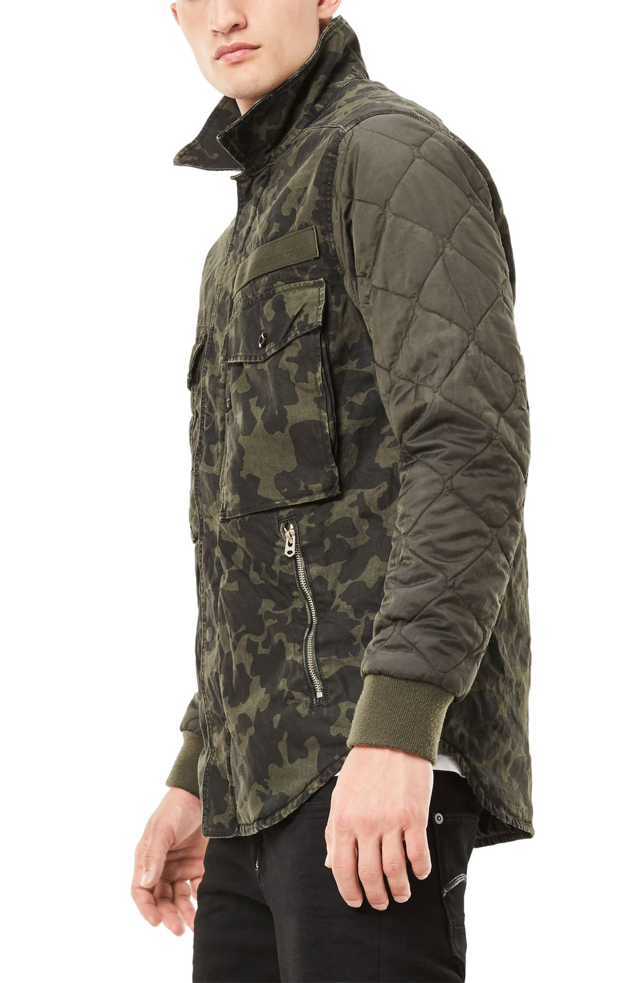 Alternate Image 3  - G-Star Raw Type C Hybrid Padded Overshirt