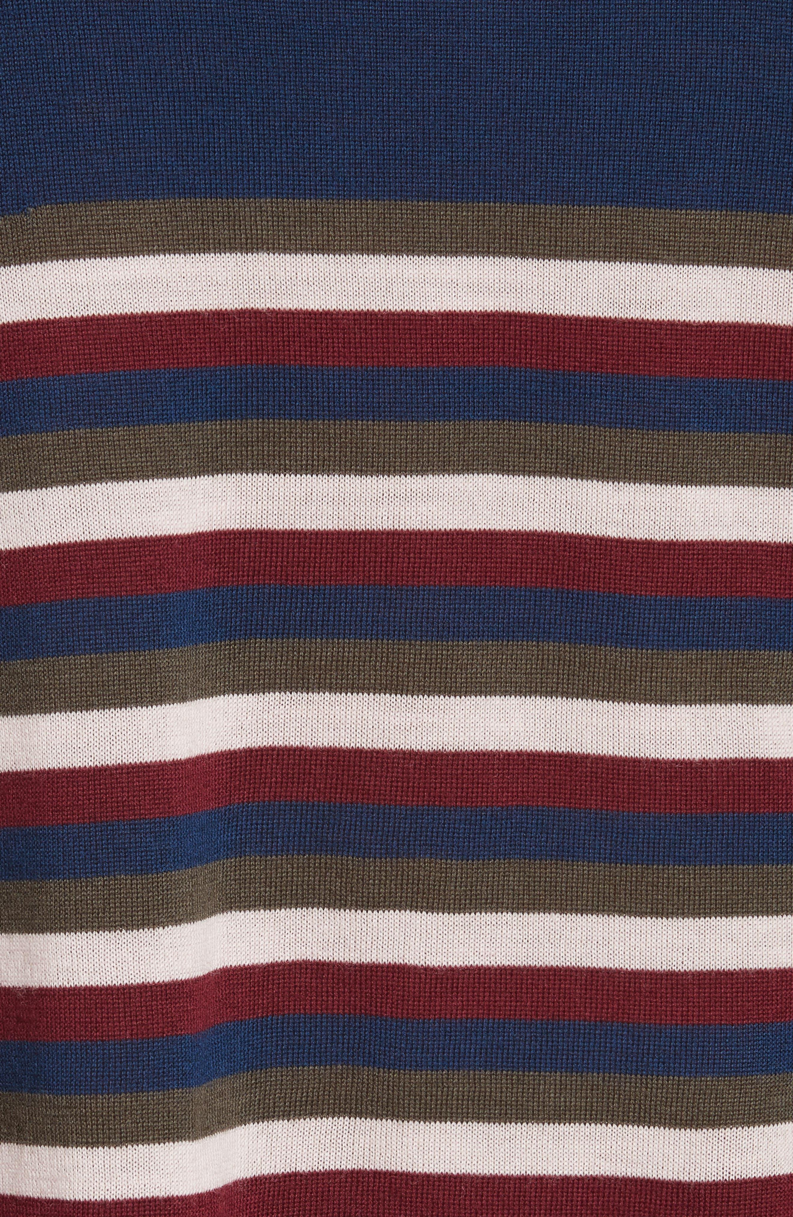 Alternate Image 6  - GREY Jason Wu Stripe Knit Pullover