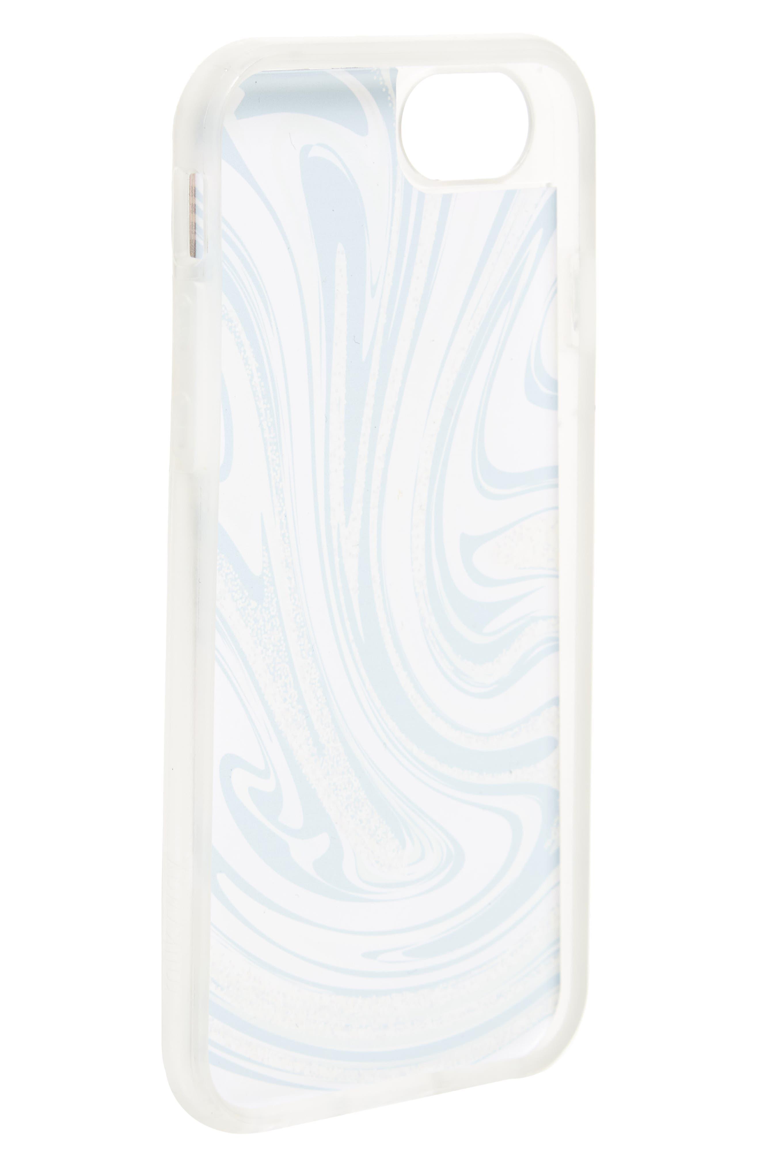Liquid Marble iPhone 6/6s/7 Case,                             Alternate thumbnail 2, color,                             Clear / Multi