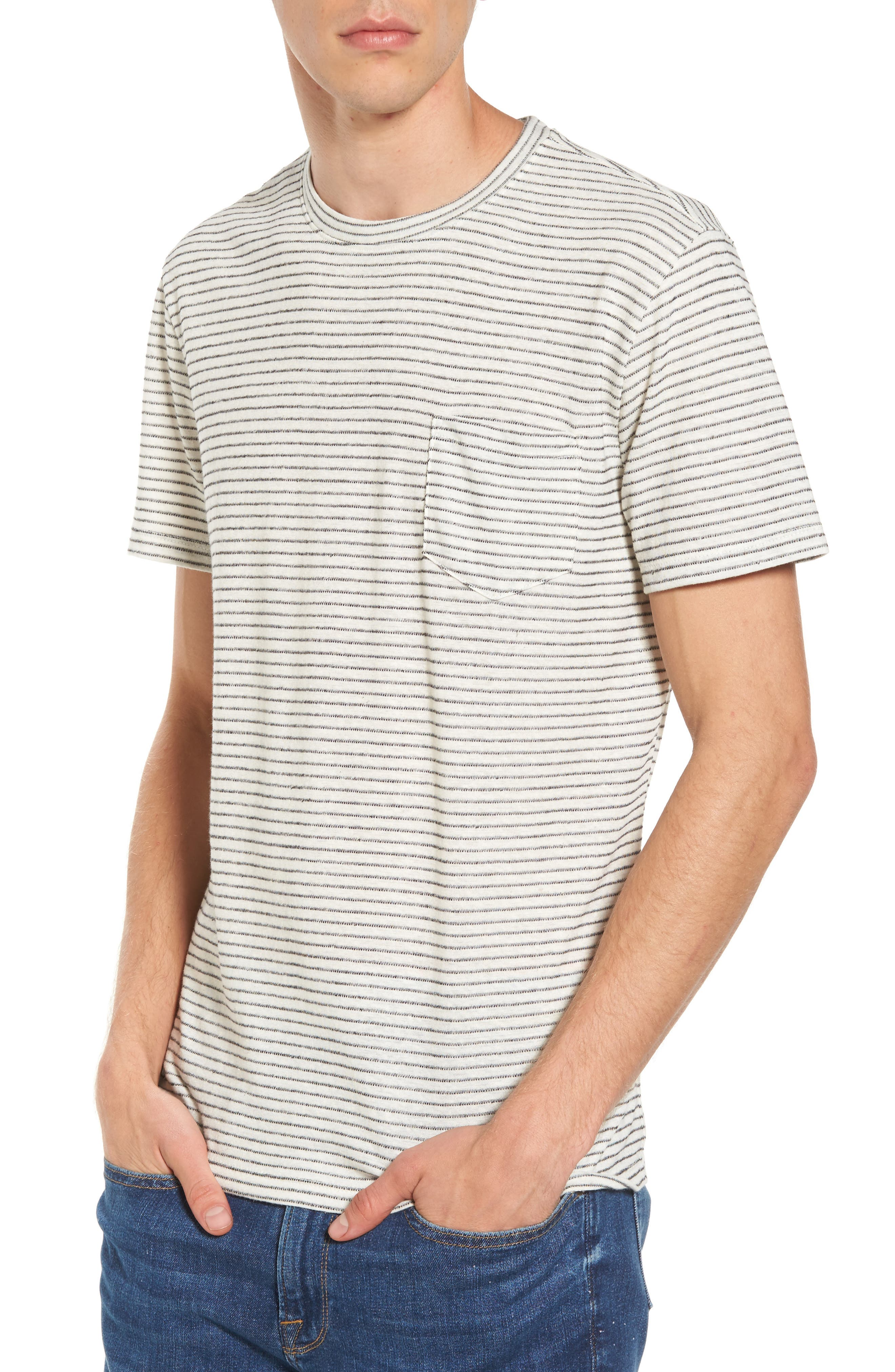 The Rail Stripe Pocket T-Shirt