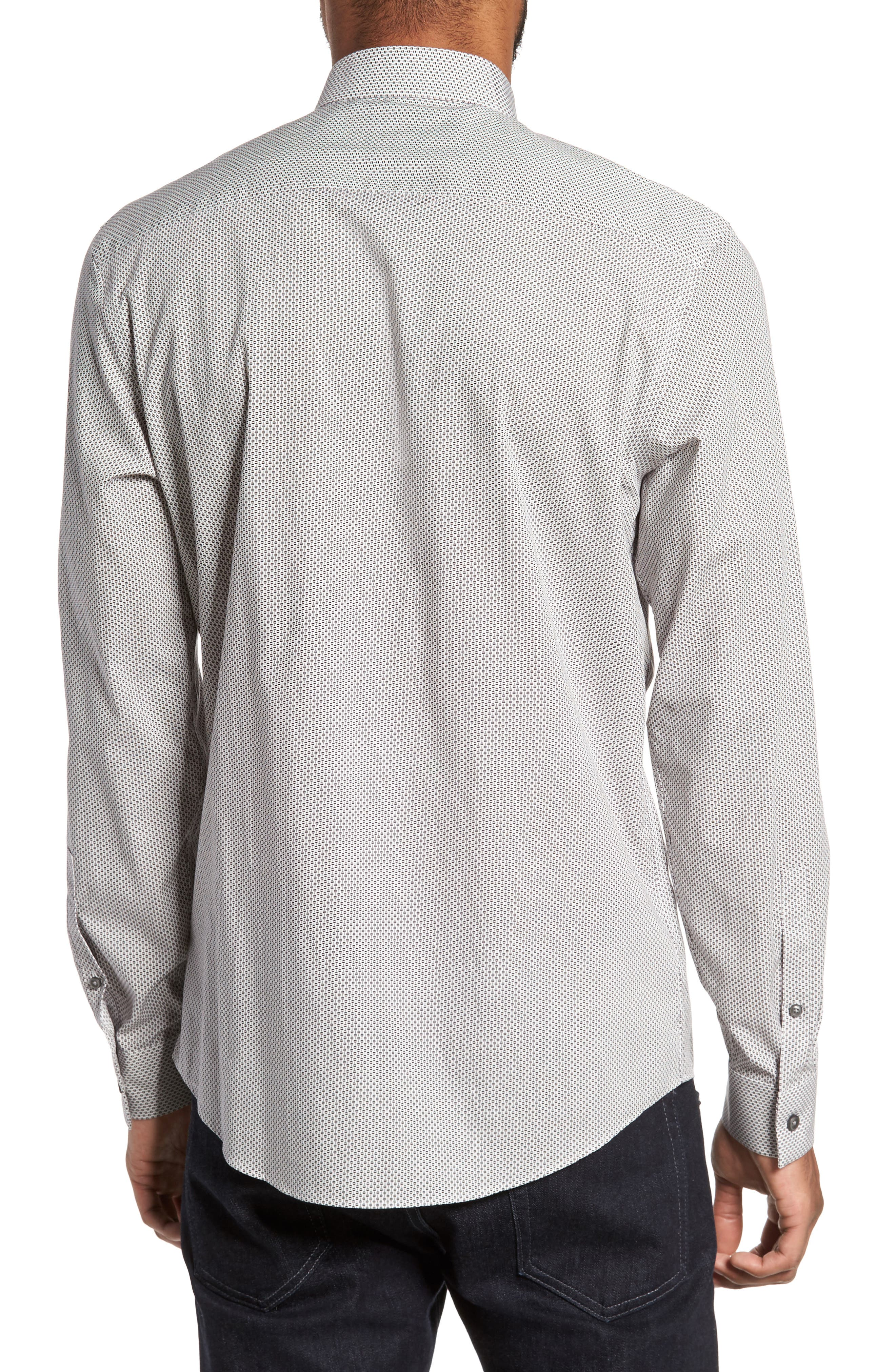 Alternate Image 2  - Calibrate Trim Fit Print Sport Shirt