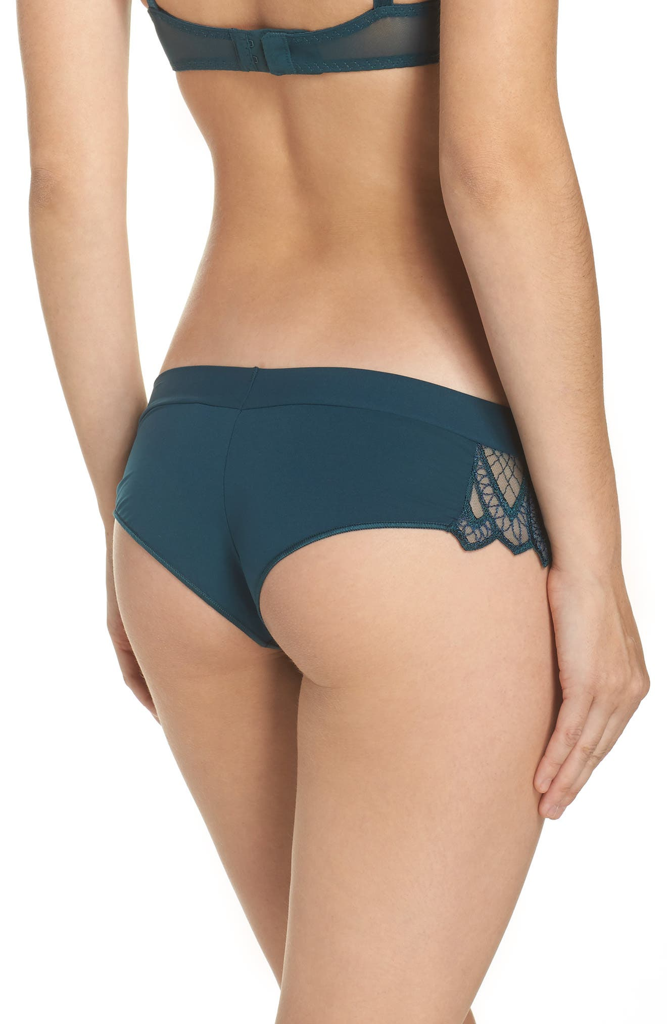 Corolle Hipster Panty,                             Alternate thumbnail 2, color,                             Lagoon