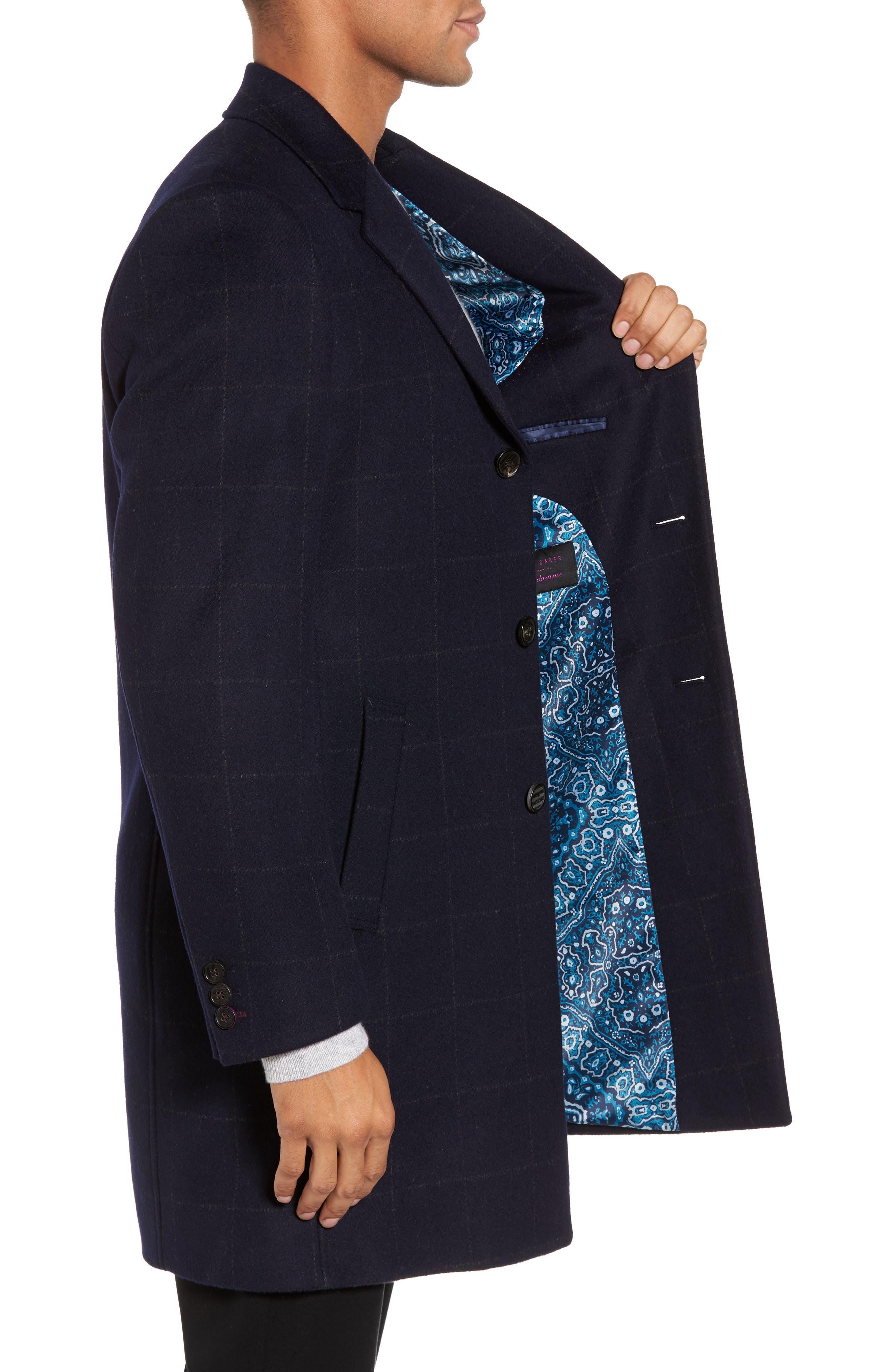 Alternate Image 3  - Ted Baker London Endurance Wool Blend Overcoat