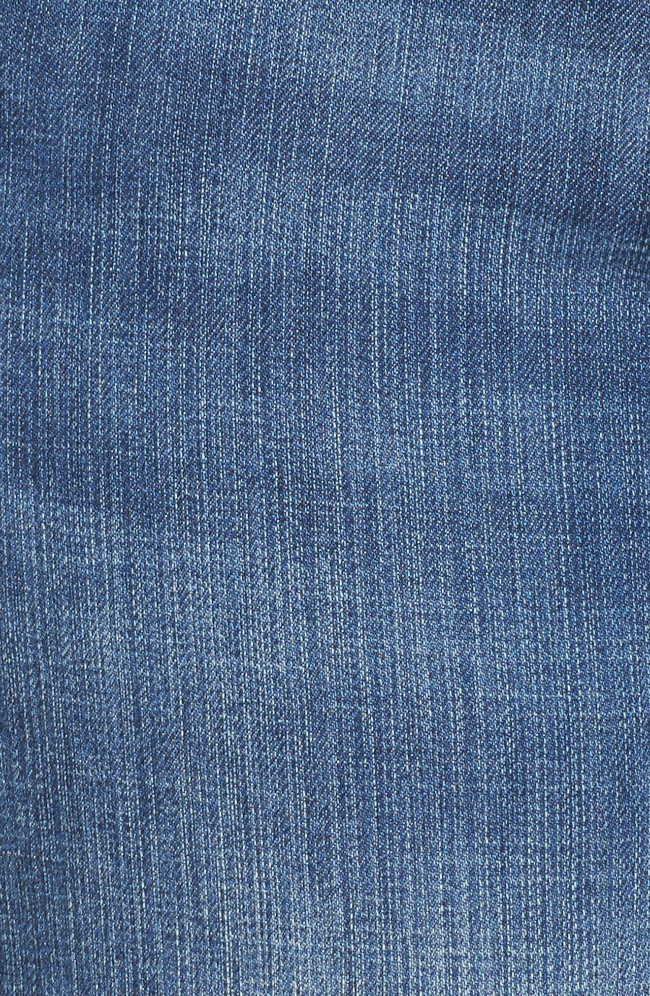 Alternate Image 5  - KUT from the Kloth Catherine Boyfriend Jeans (Fervent) (Plus Size)