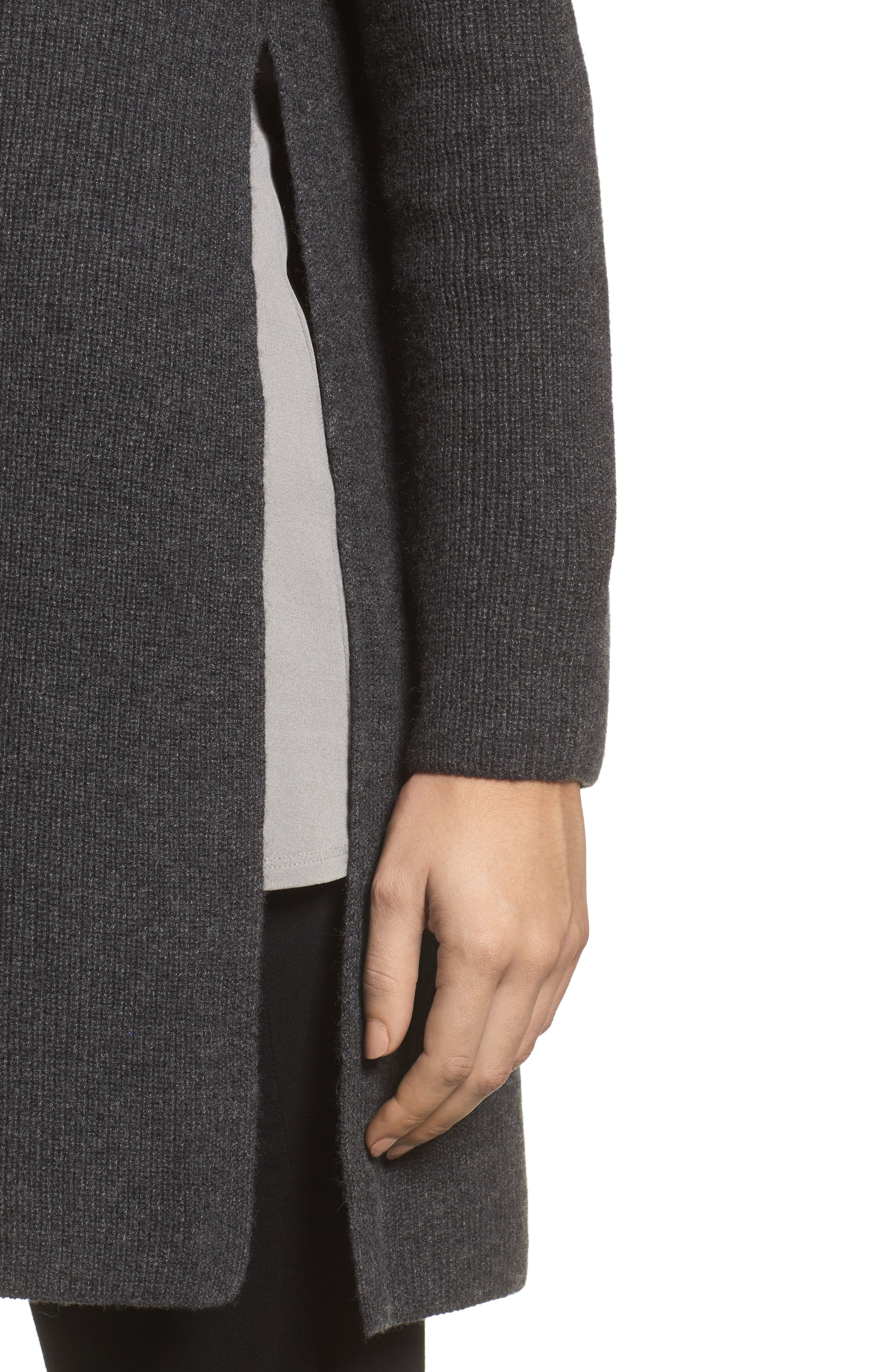 Alternate Image 4  - Eileen Fisher Cashmere Tunic Sweater