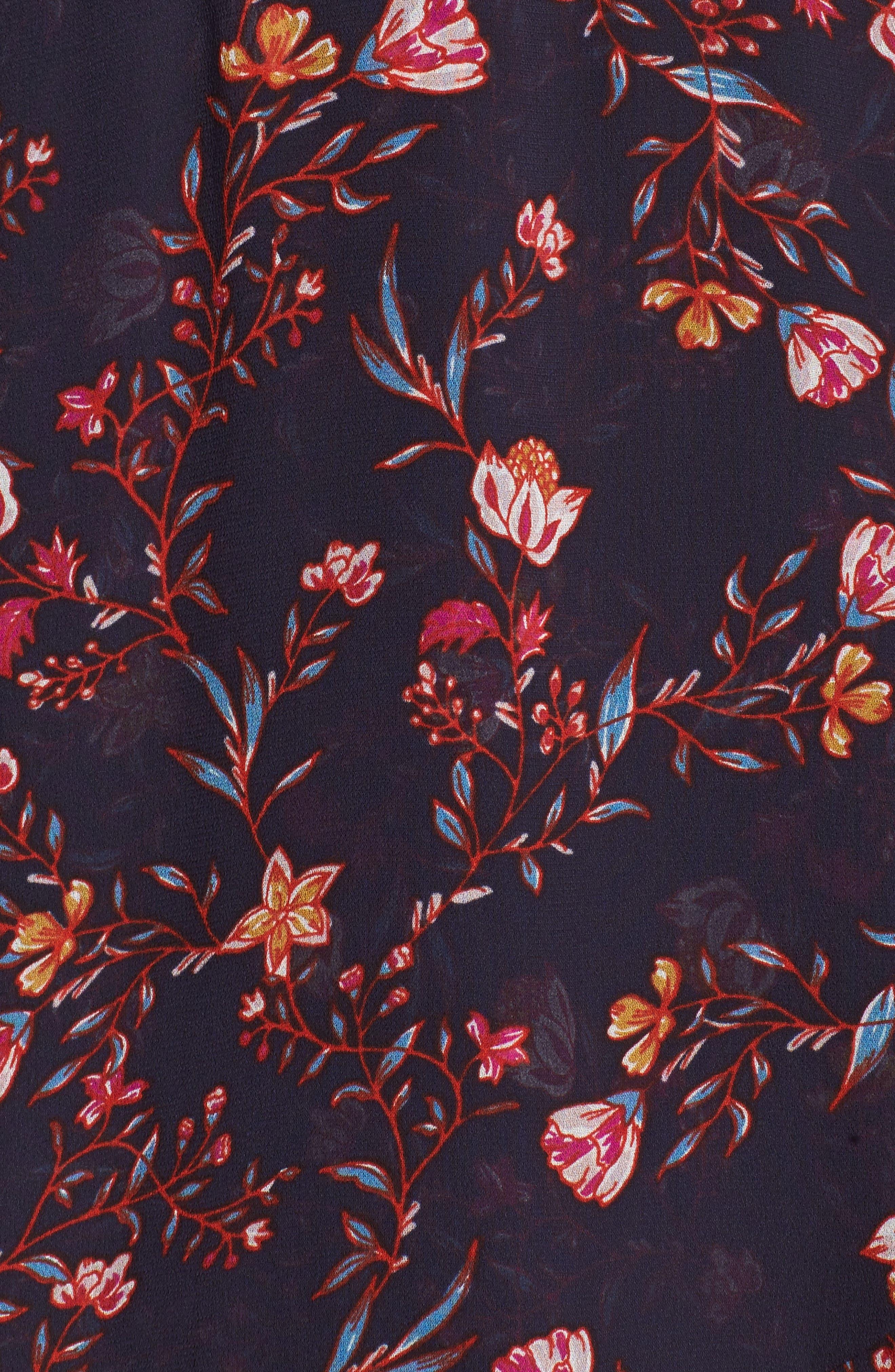 Alternate Image 5  - Greylin Esther Ruffle Wrap Dress
