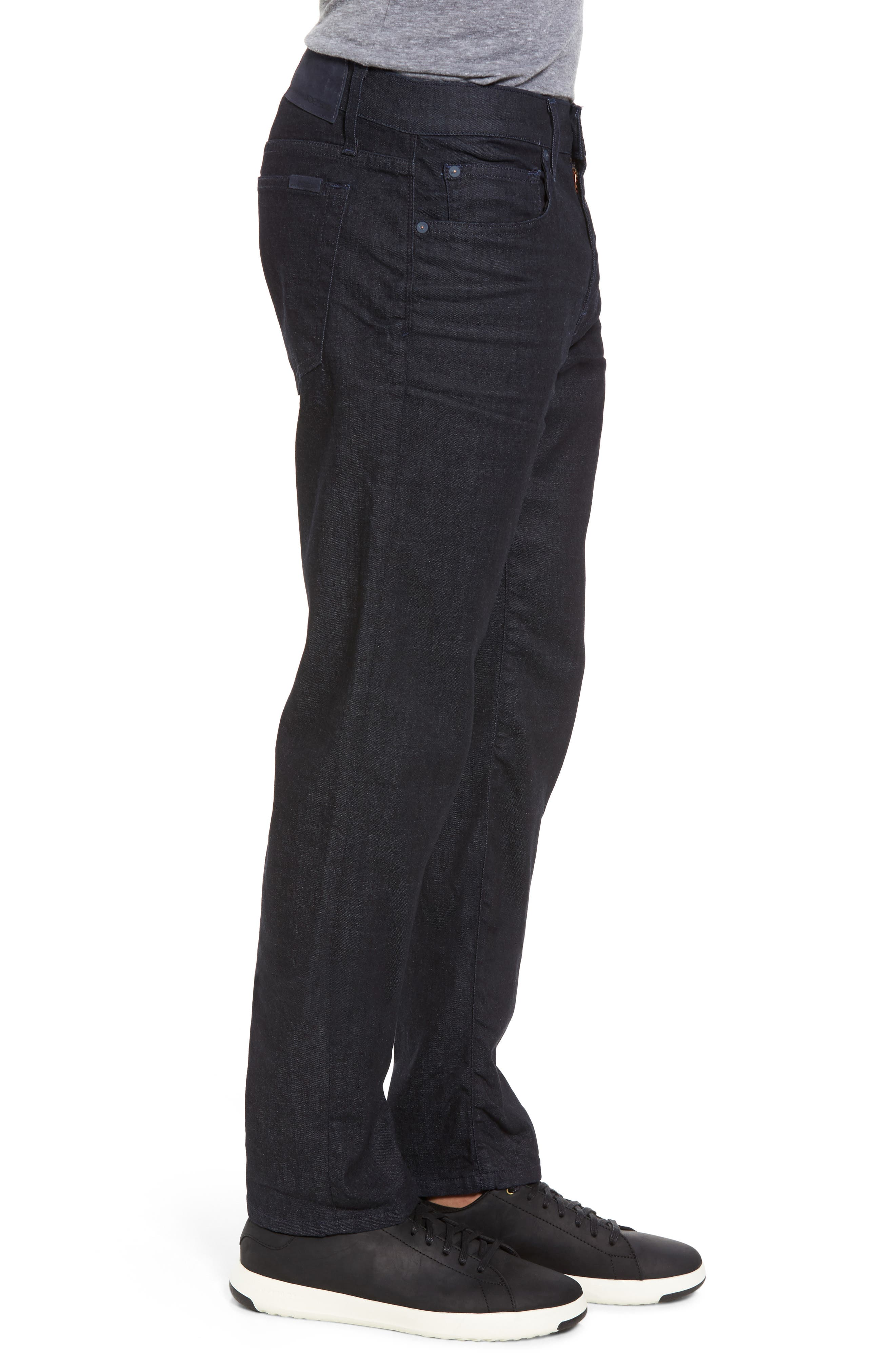 Brixton Slim Straight Fit Jeans,                             Alternate thumbnail 3, color,                             Foster