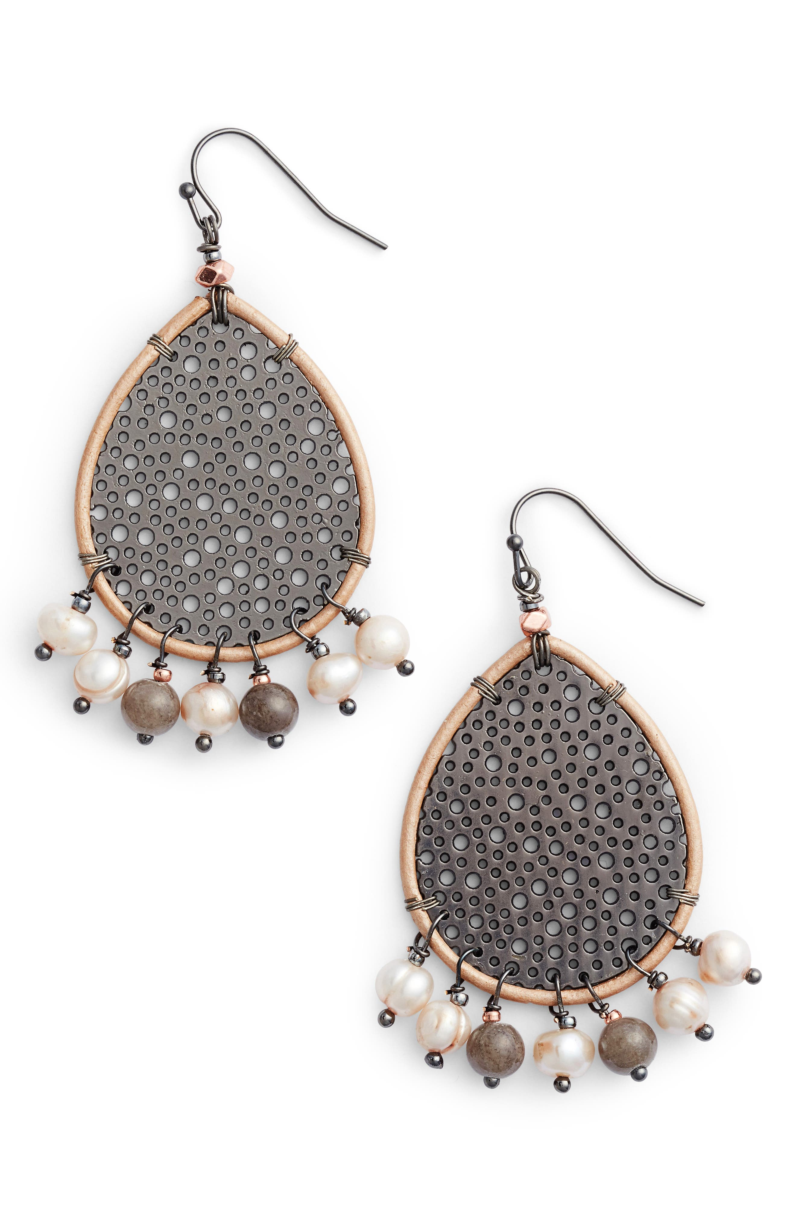 Alternate Image 1 Selected - Nakamol Design Teardrop Earrings