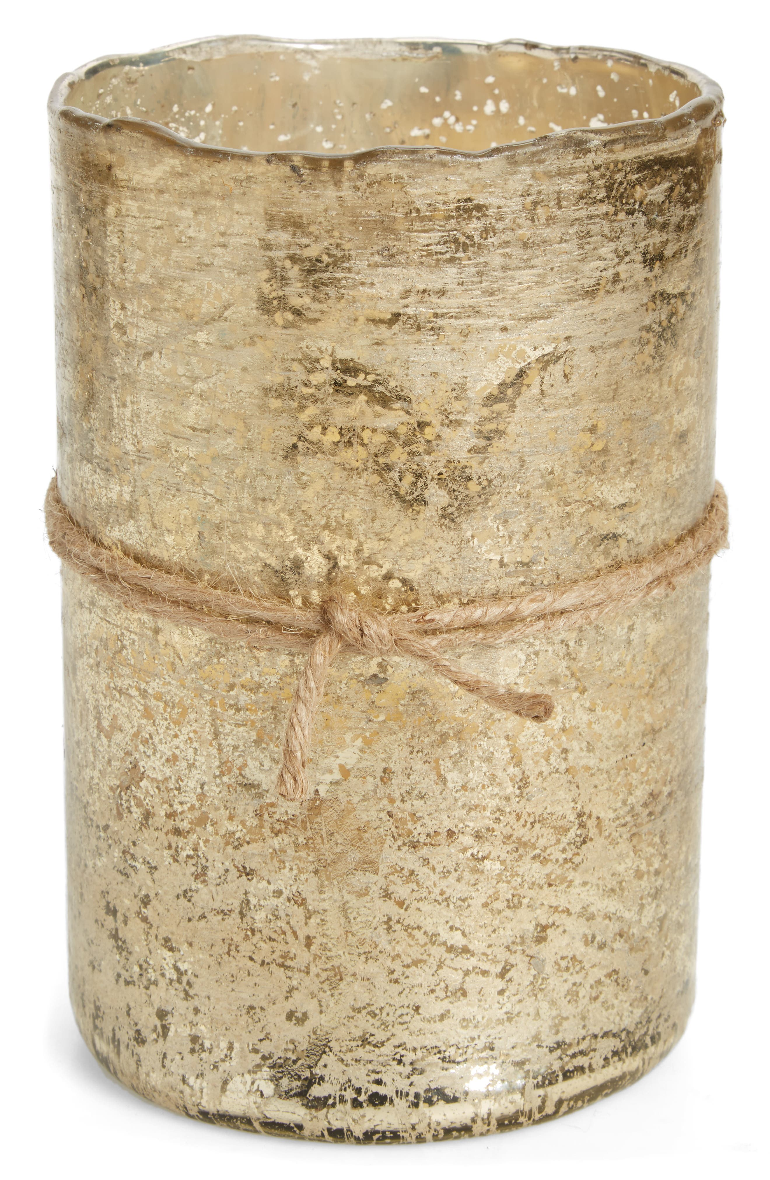 Himalayan Trading Post Scented Gold Hurricane Candle