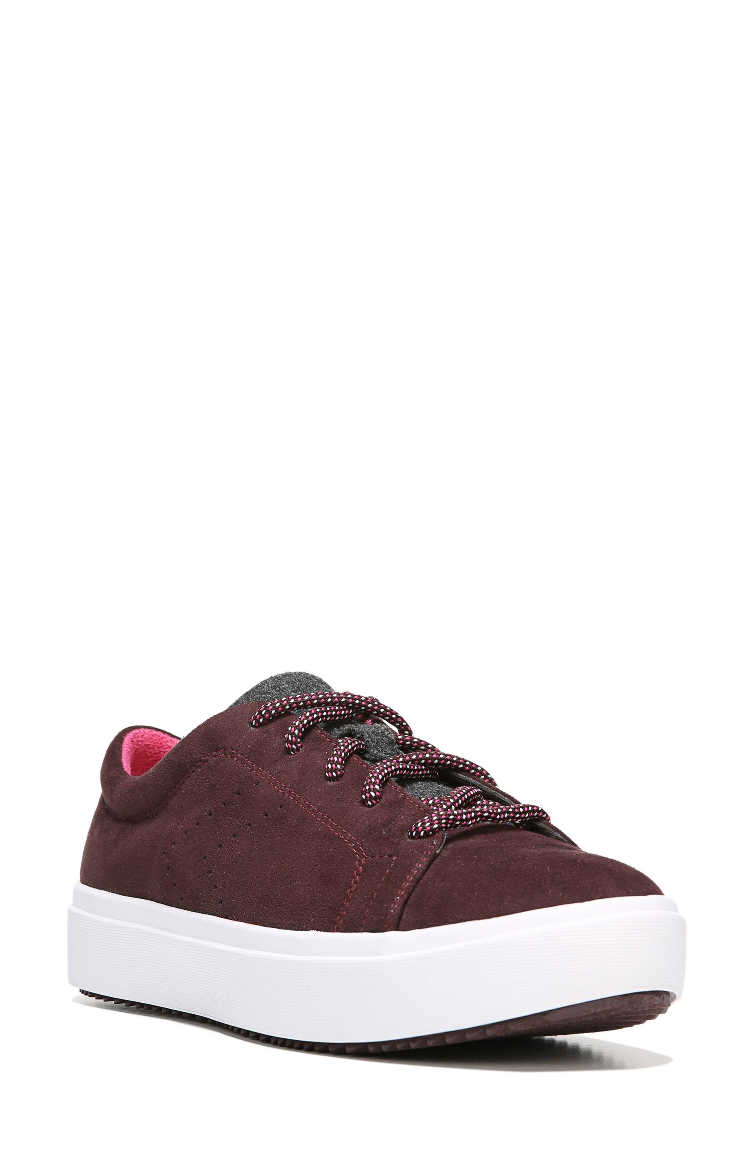 Wander Sneaker,                             Main thumbnail 1, color,                             Merlot Fabric