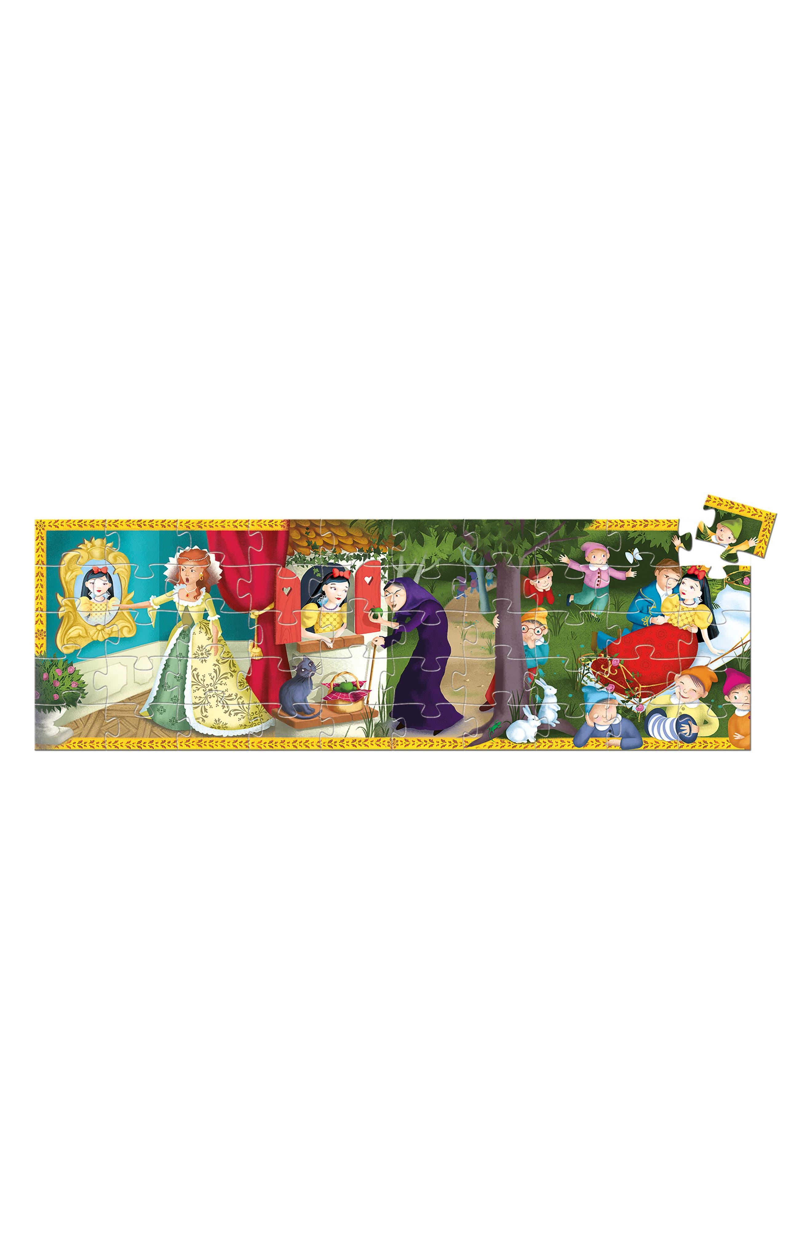 Silhouette Puzzles Snow White 50-Piece Puzzle,                             Alternate thumbnail 2, color,                             Multi