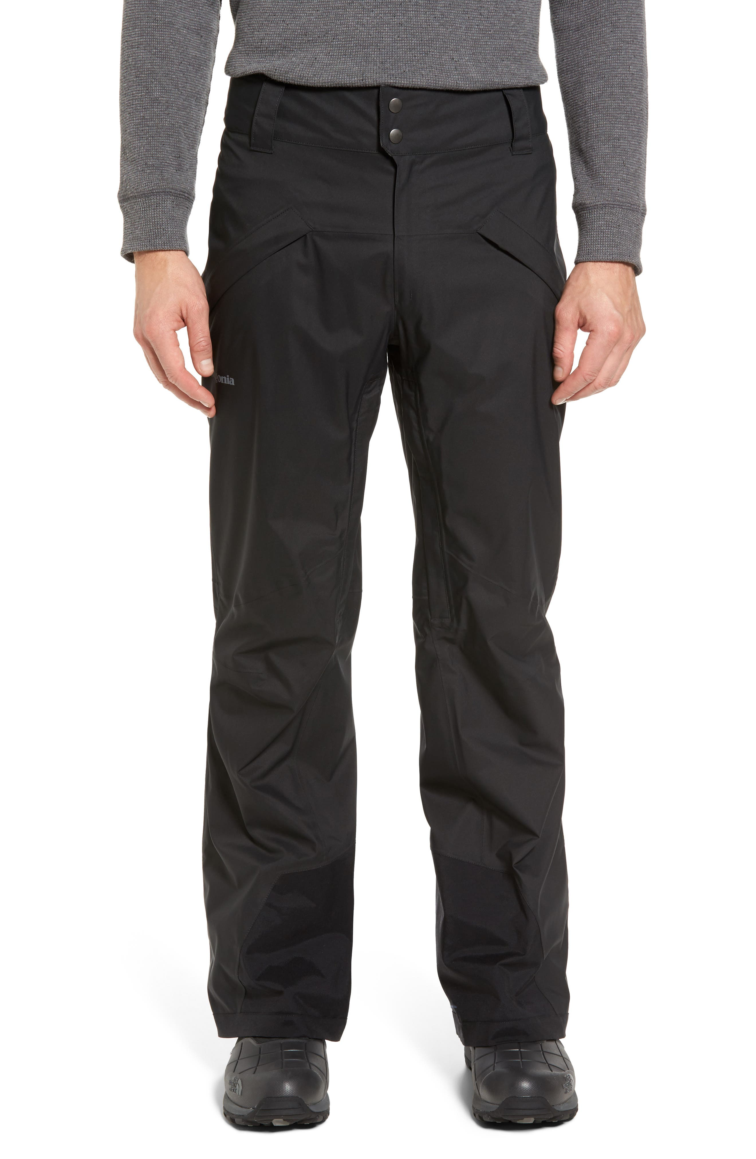 Snowshot Snow Pants,                         Main,                         color, Black