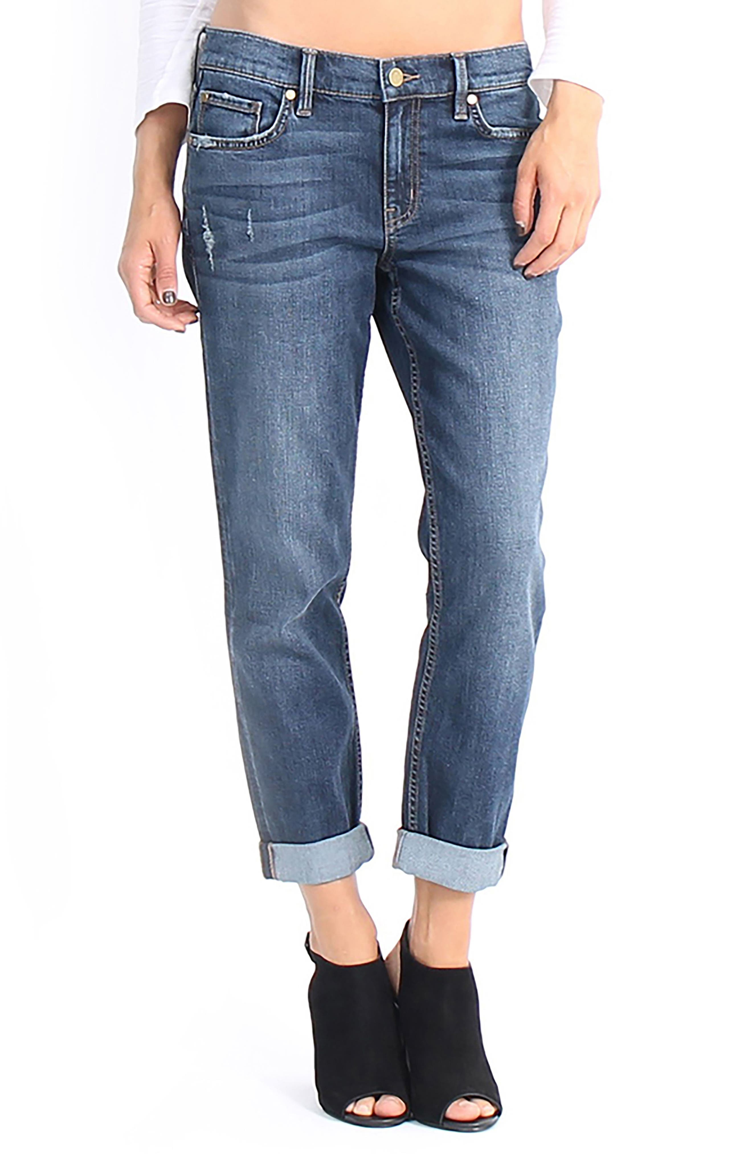 Sienna Stretch Ankle Jeans,                         Main,                         color, Eden
