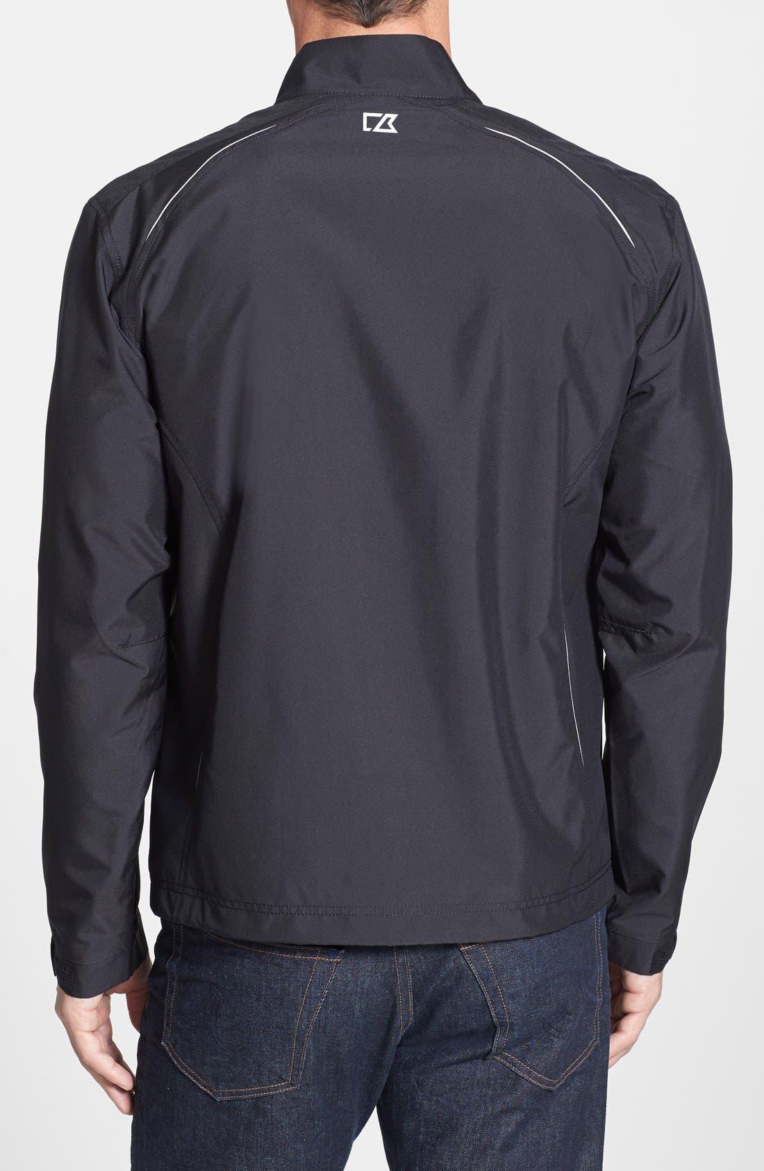 Philadelphia Eagles - Beacon WeatherTec Wind & Water Resistant Jacket,                             Alternate thumbnail 2, color,                             Black