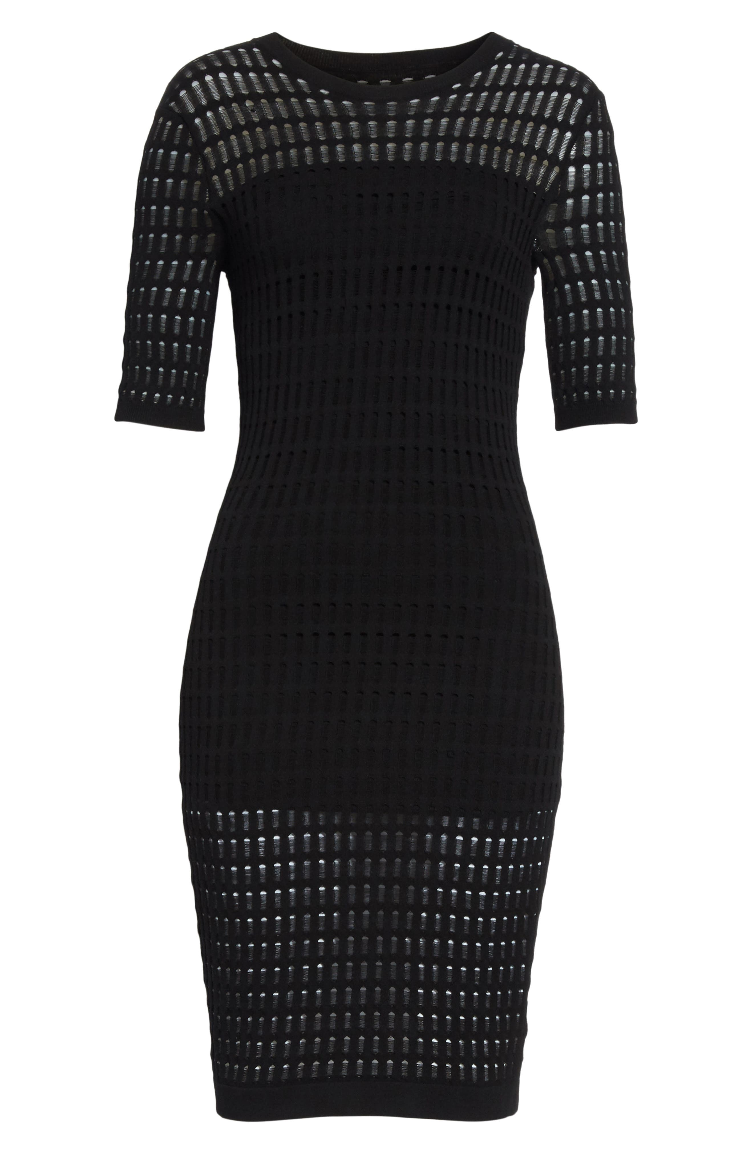 Alternate Image 6  - T by Alexander Wang Float Stitch Lace Dress