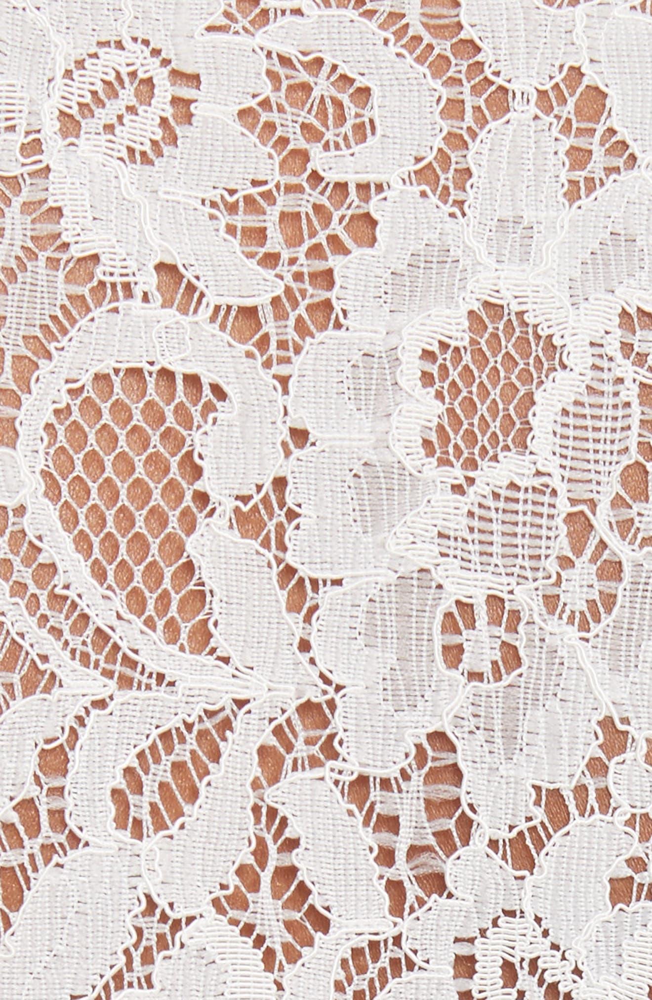 Alternate Image 5  - Rebecca Taylor Silk & Lace Blouse