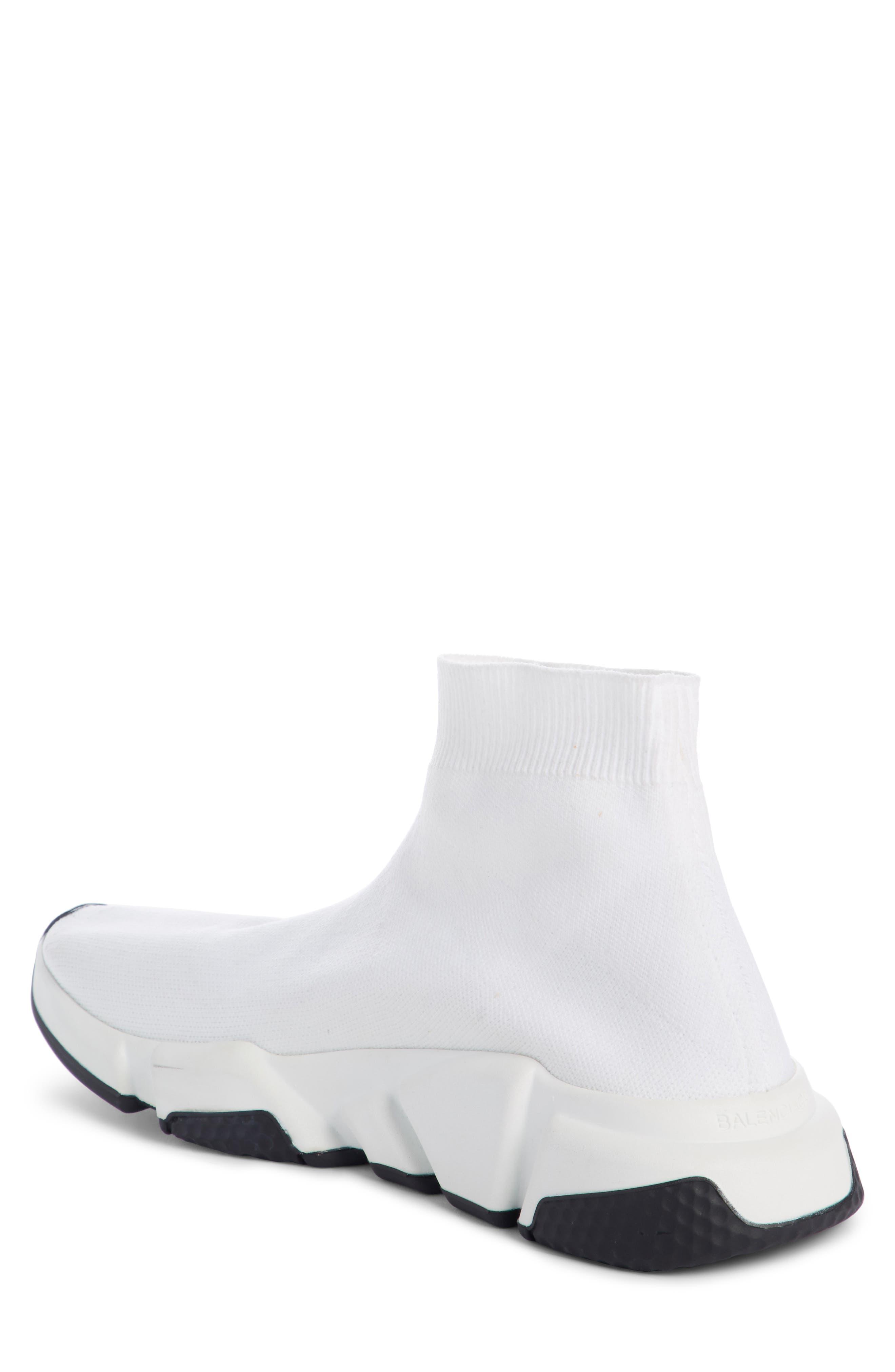 Speed Mid Sneaker,                             Alternate thumbnail 2, color,                             White