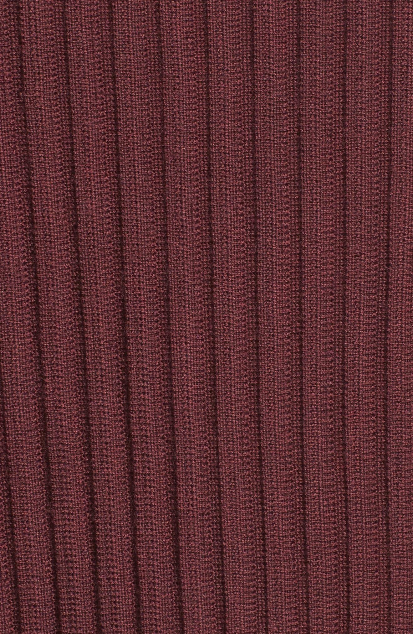 Alternate Image 5  - Eileen Fisher Ribbed Merino Wool Sweater (Regular & Petite)