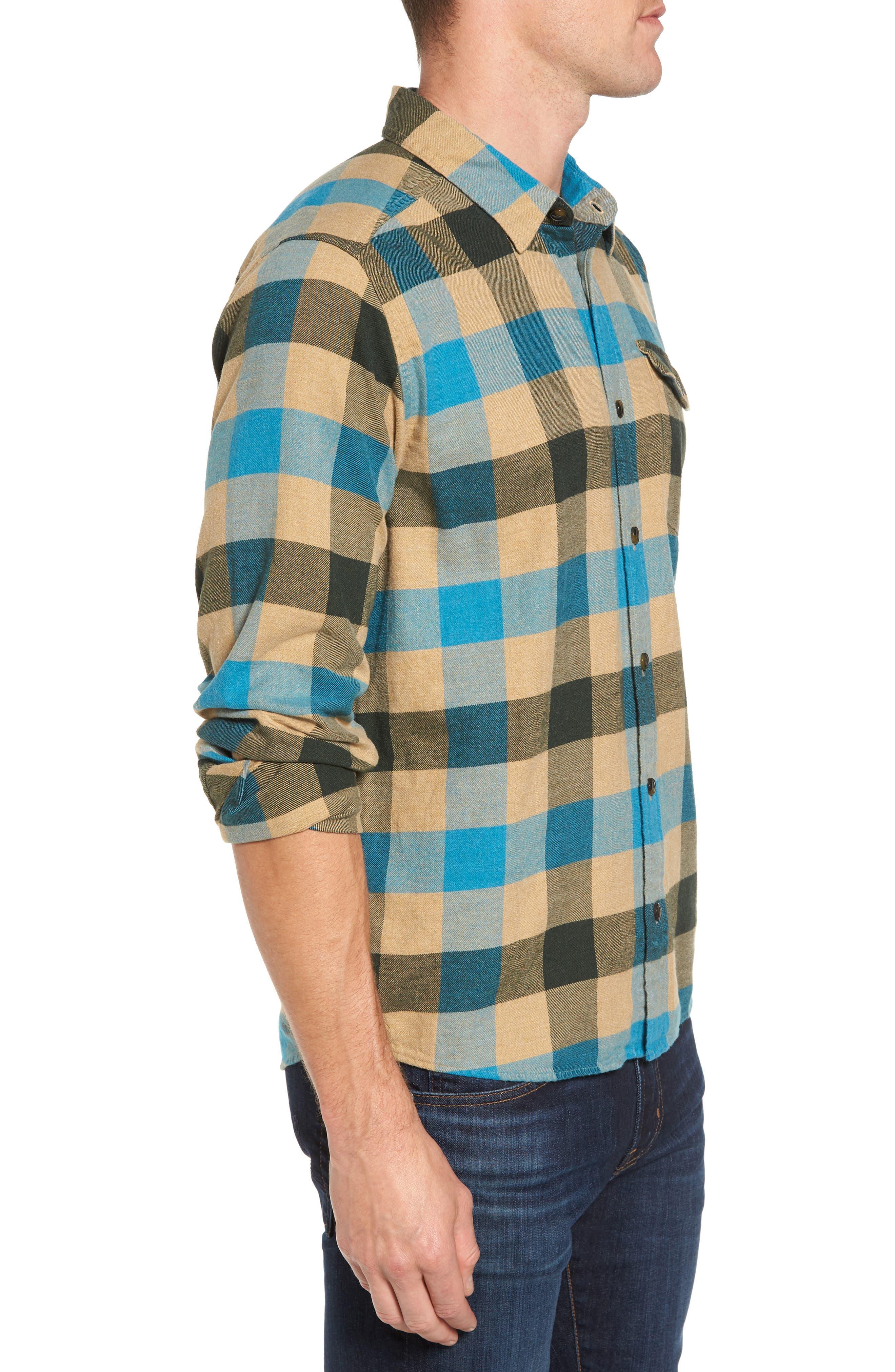 Alternate Image 3  - Patagonia Regular Fit Organic Cotton Flannel Shirt