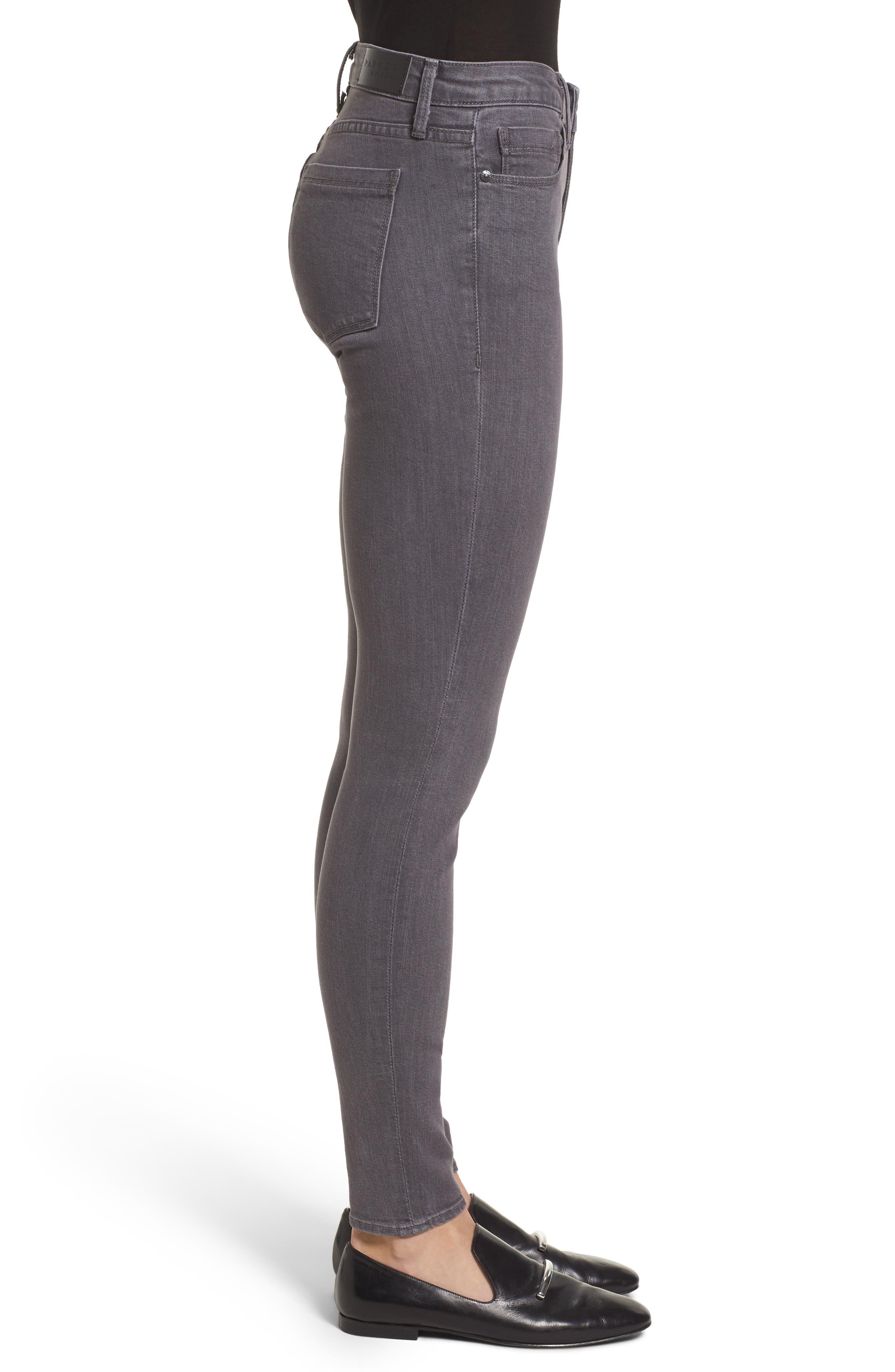 Ava Skinny Jeans,                             Alternate thumbnail 3, color,                             Overcast