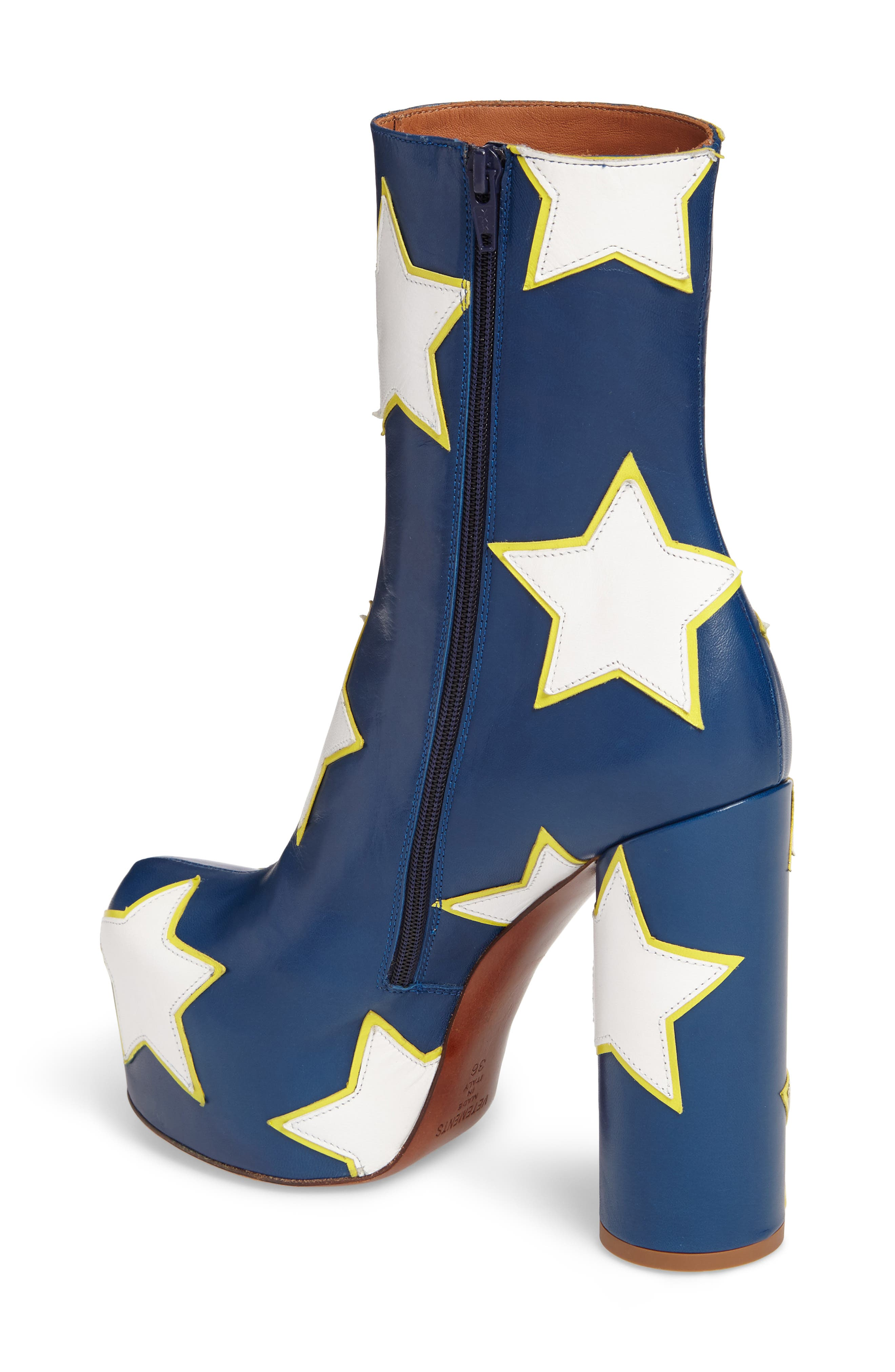 Alternate Image 2  - Vetements Star Platform Boot (Women)