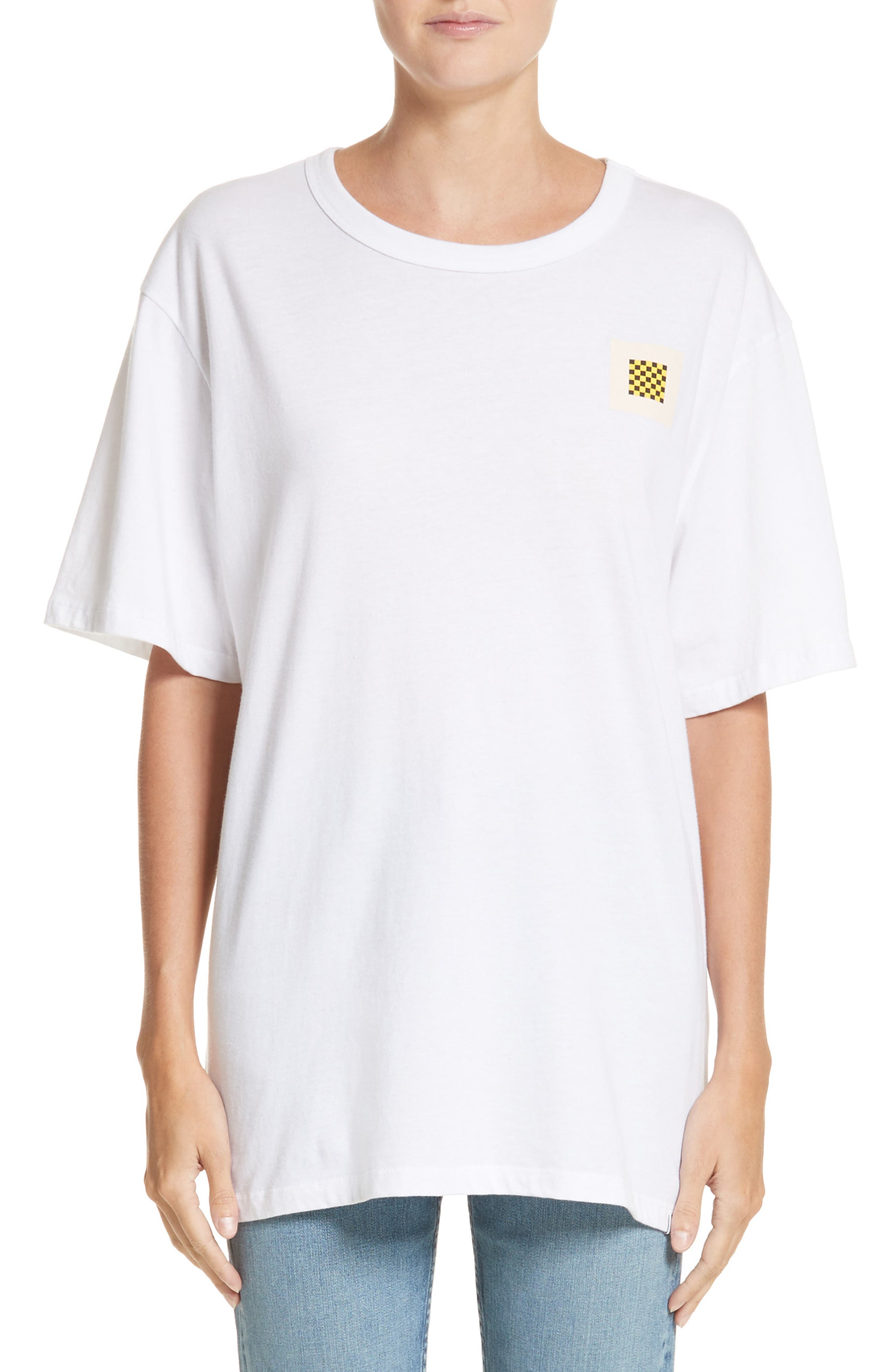 PSWL Graphic Jersey Tee,                             Alternate thumbnail 3, color,                             White
