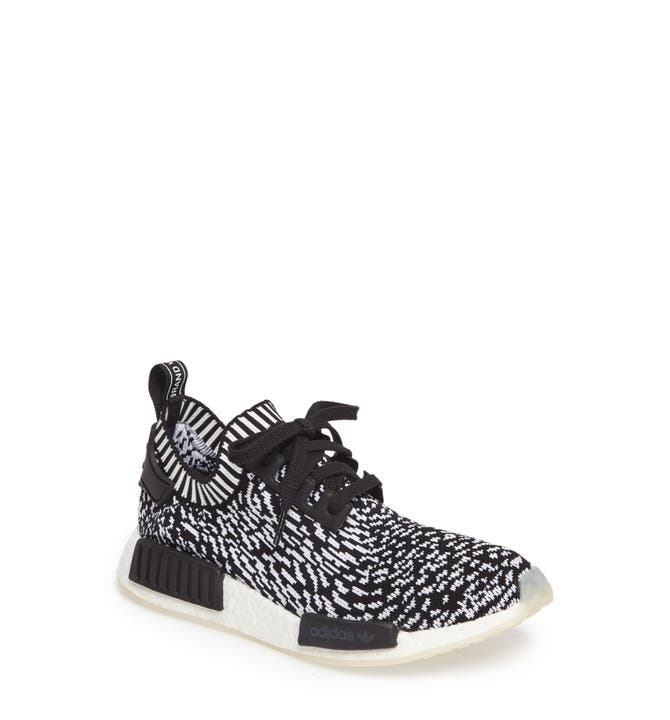 NMD R1 PK Camo Pack Olive Cargo Core Black White Shoes